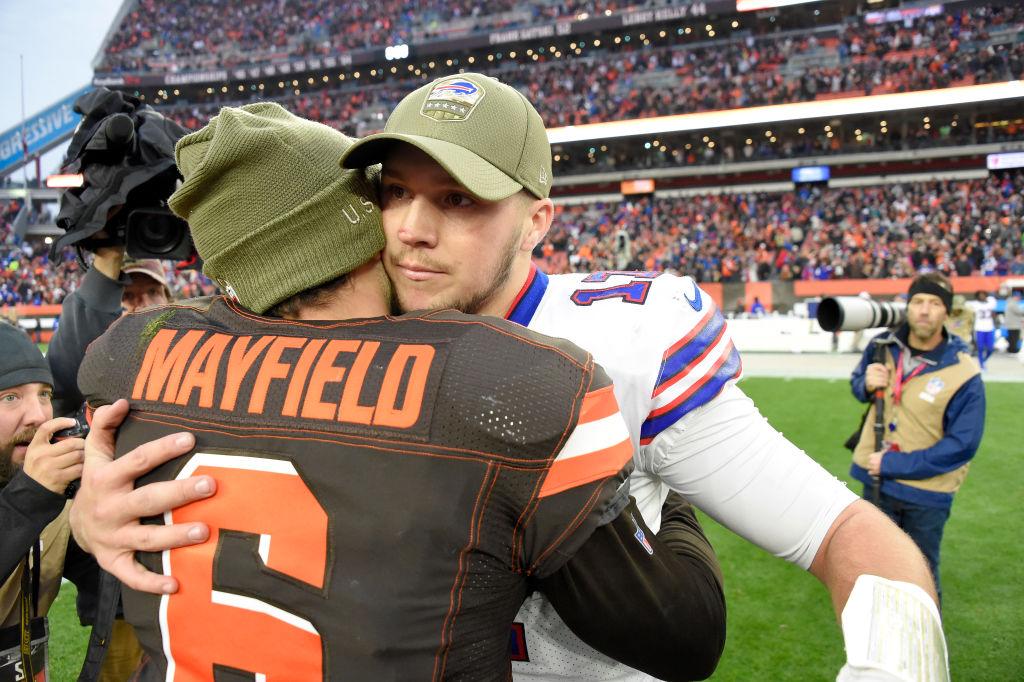 New Browns OC doesn't want Baker Mayfield doing what Josh Allen does in offseason