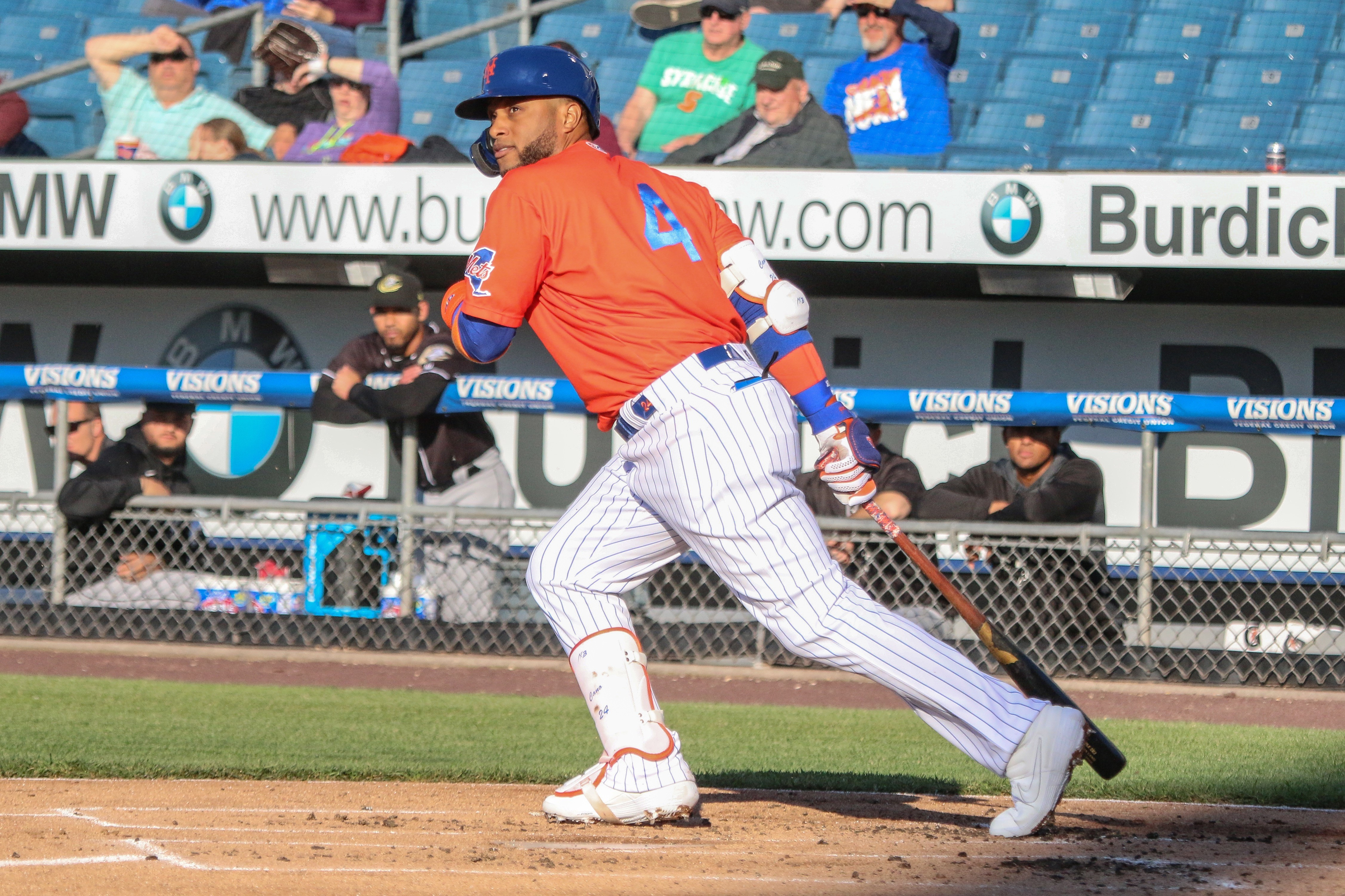 Trio of New York Mets make impact in wild Syracuse win over Charlotte