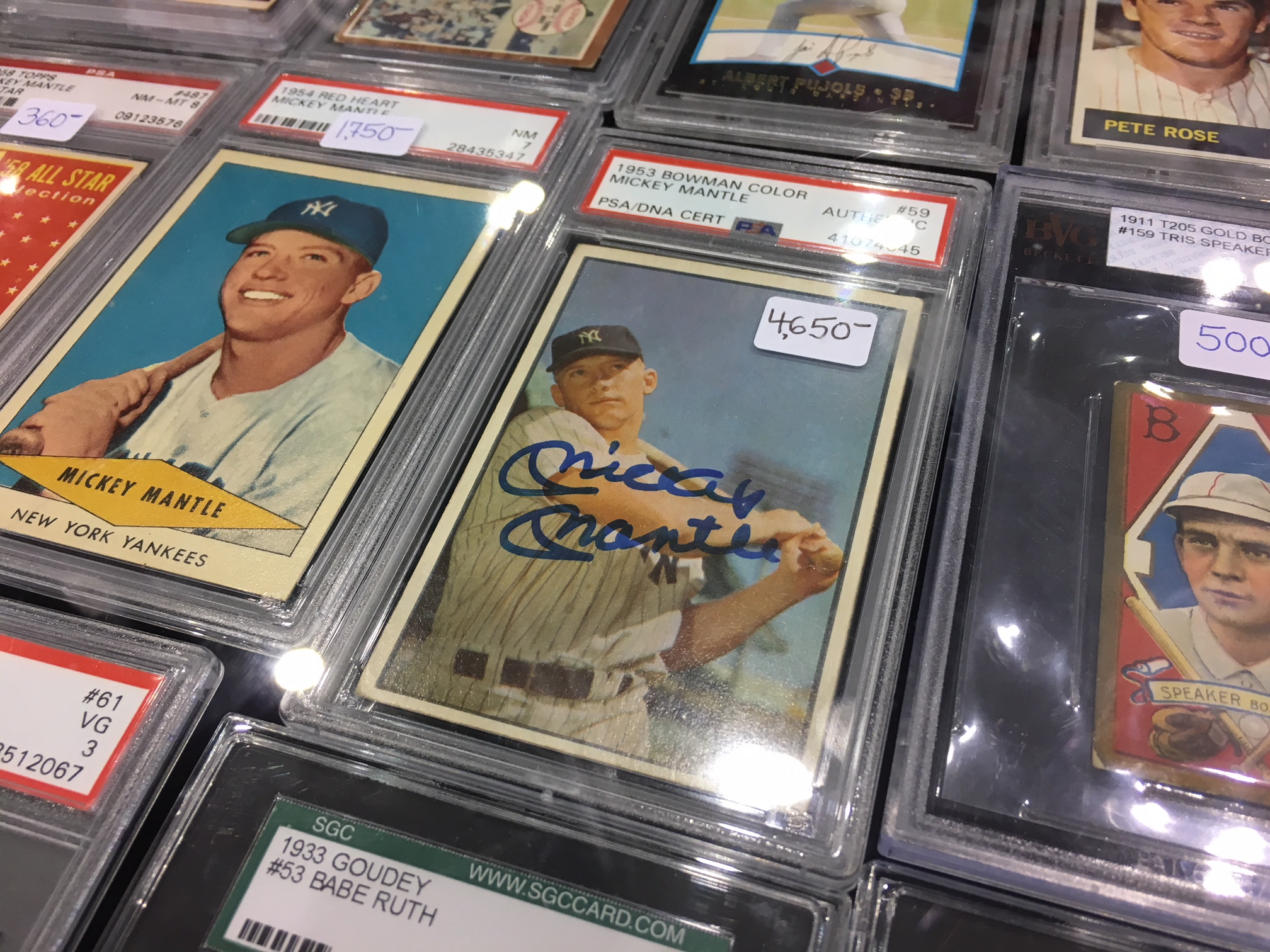 Baseball Card Collectors Suspect Rampant Fraud In Their Hobby