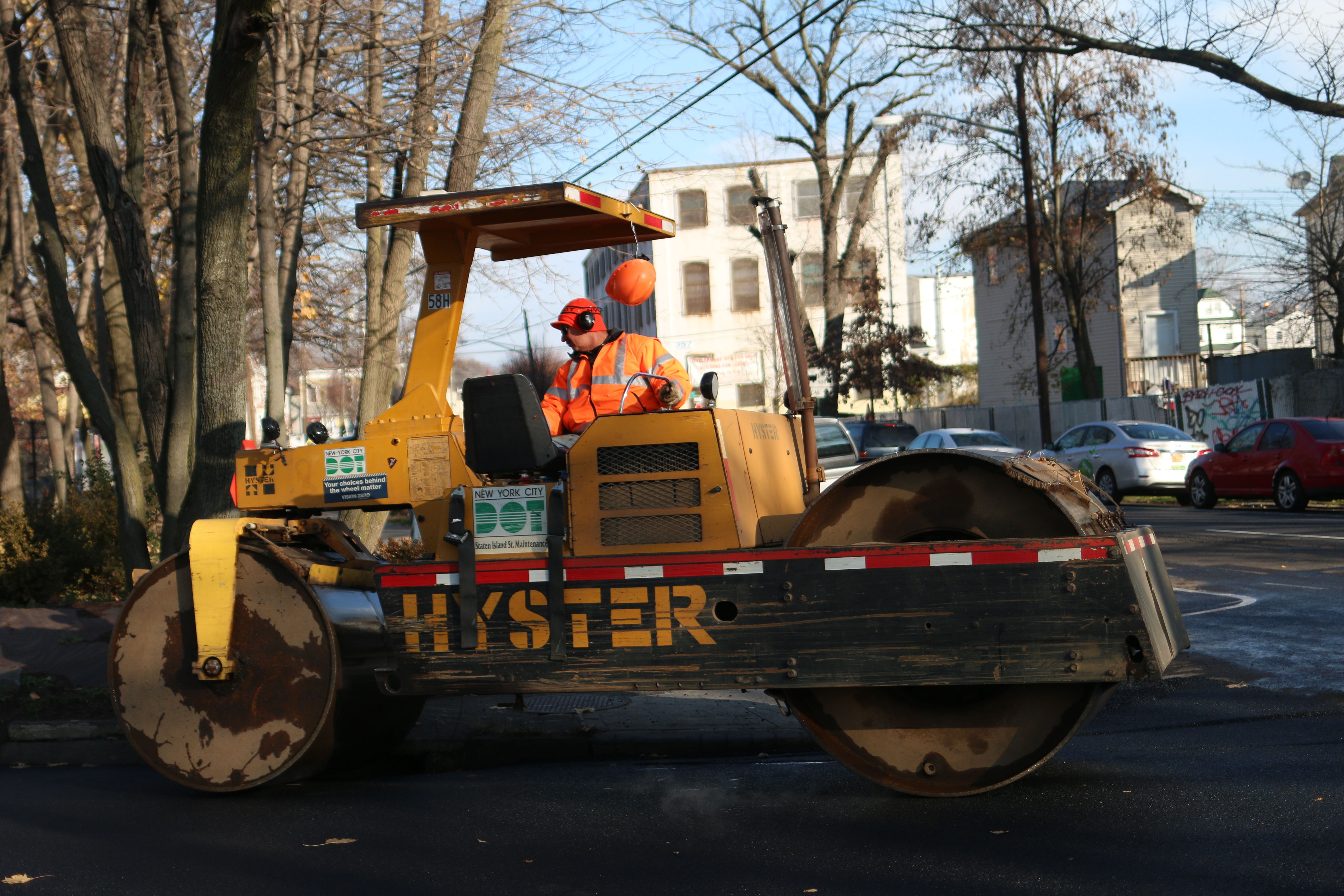 Paving, milling schedule for Staten Island streets next week