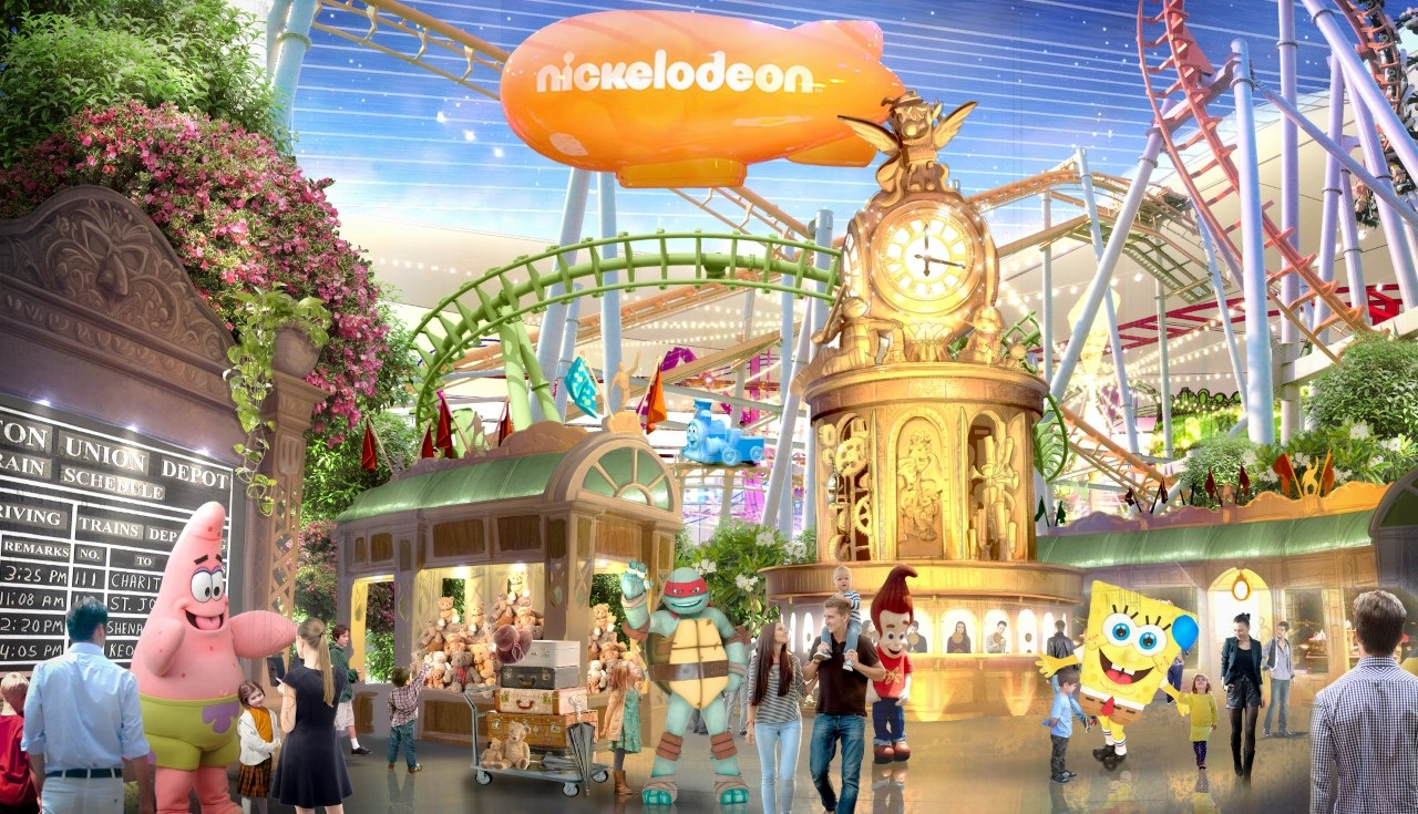 Tickets for Nickelodeon Universe at American Dream are on sale and they're selling out