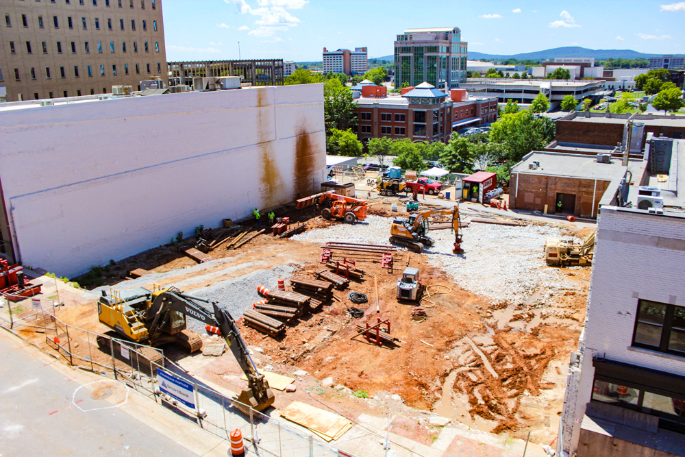 Construction gears up for downtown Huntsville hotel