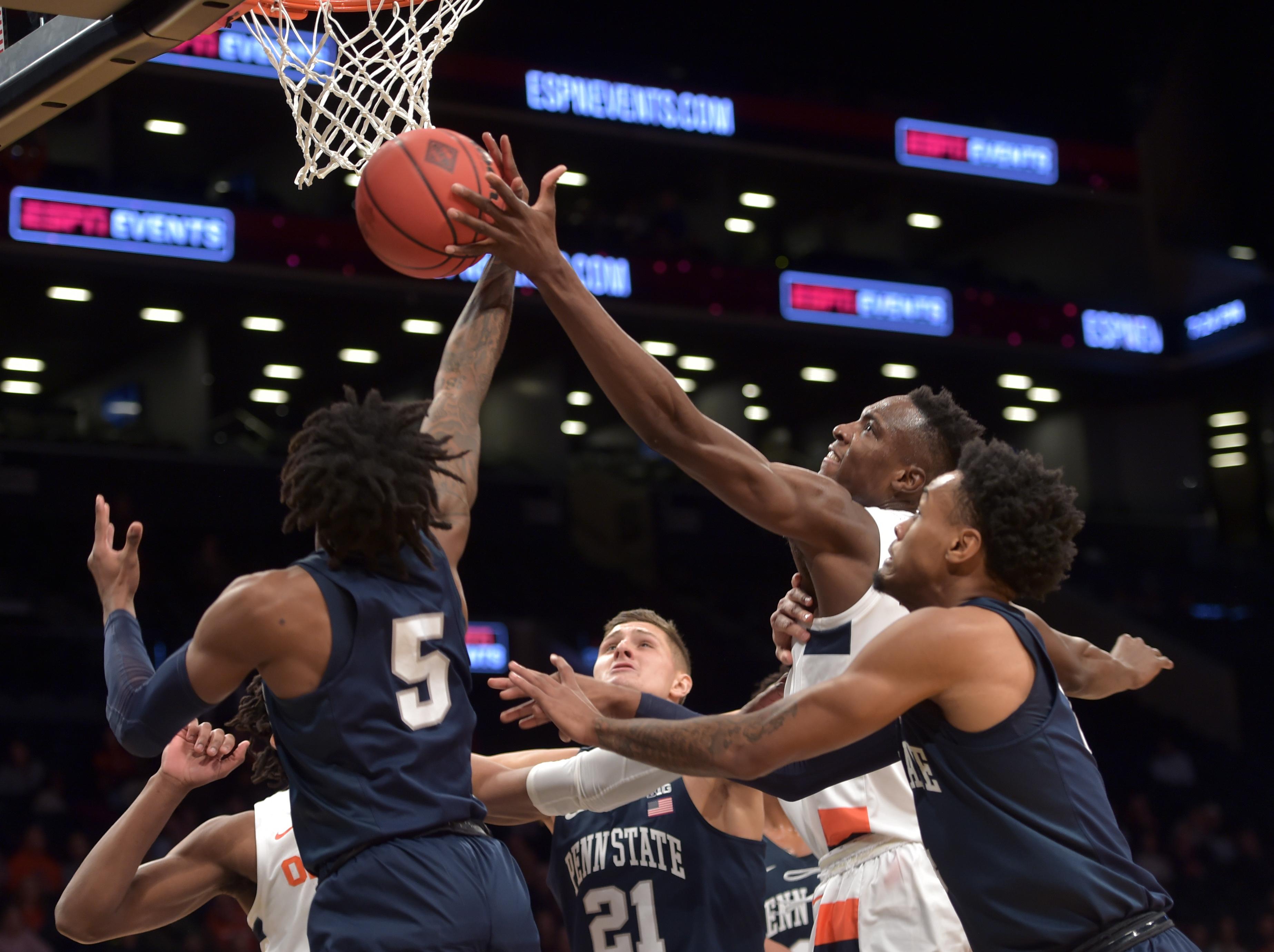 Syracuse Basketball Box Score Vs Penn State Syracuse Com