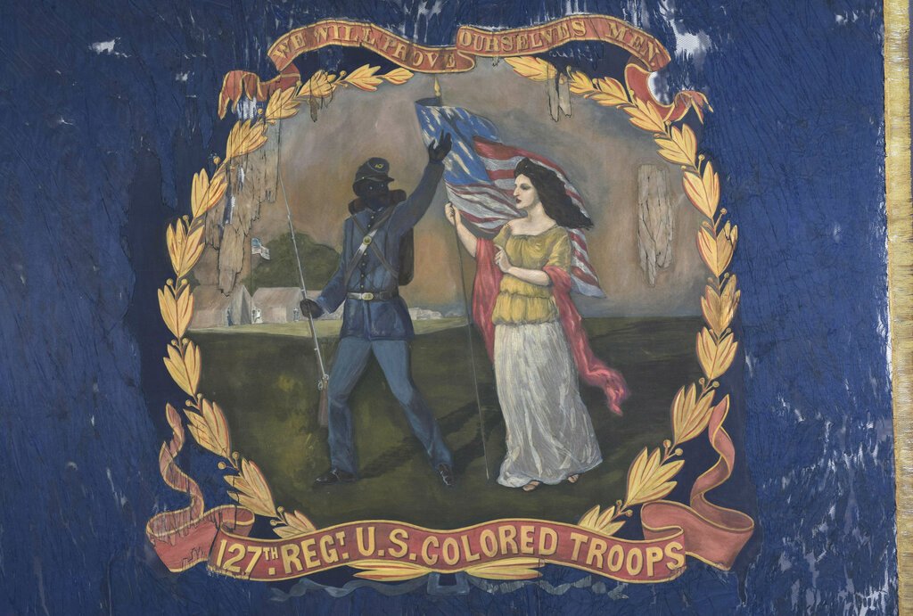 Atlanta History Center purchases black Union regiment's flag for $196,800