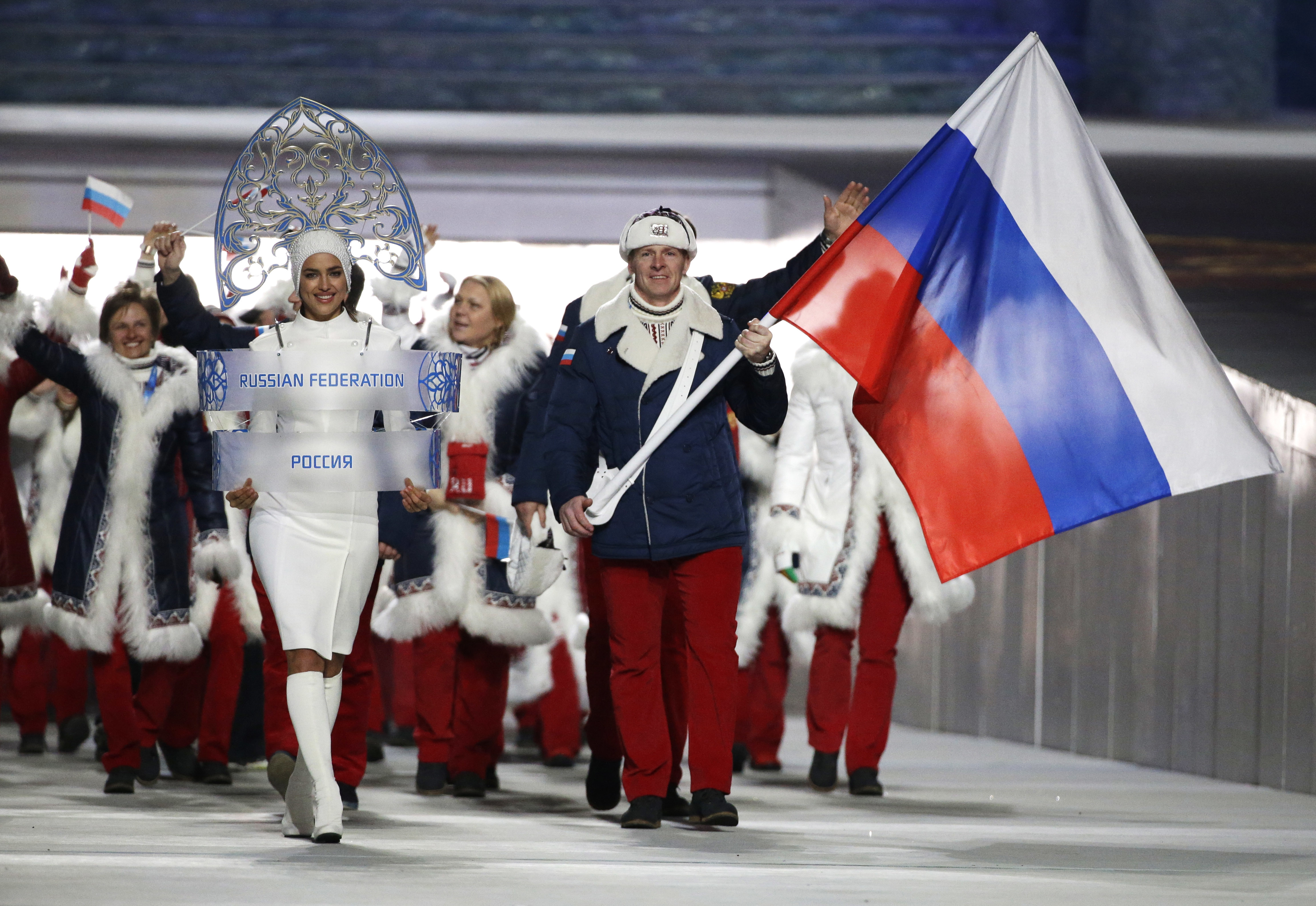 Russia hit with 4-year Olympics ban by World Anti-Doping Agency