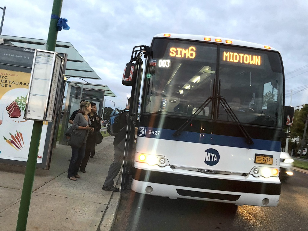 The MTA has taken six buses out of service due to concerns about bed bugs. (Staten Island Advance/Jan Somma-Hammel)