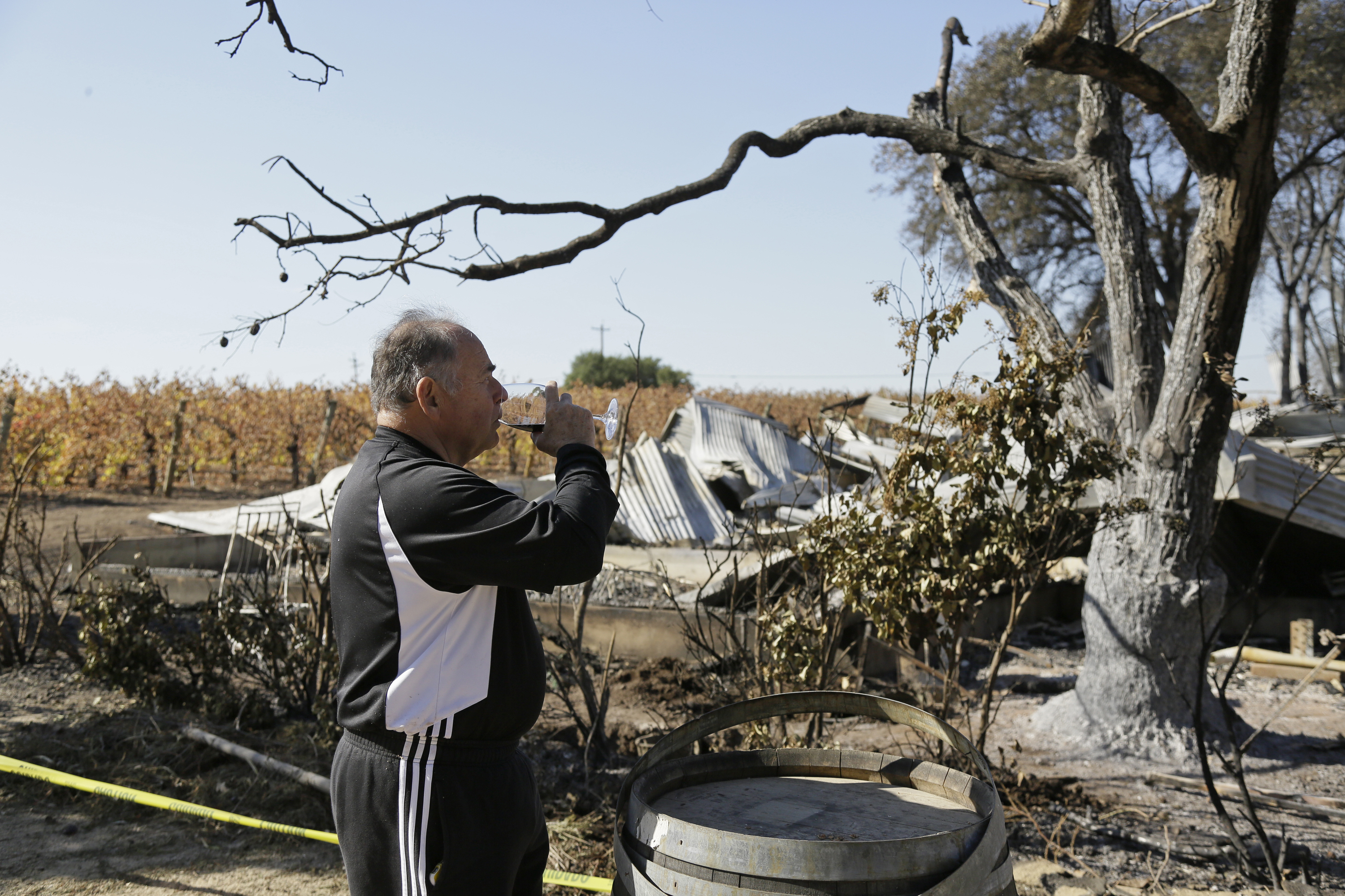 California wineries breathing easier following latest round of wildfires