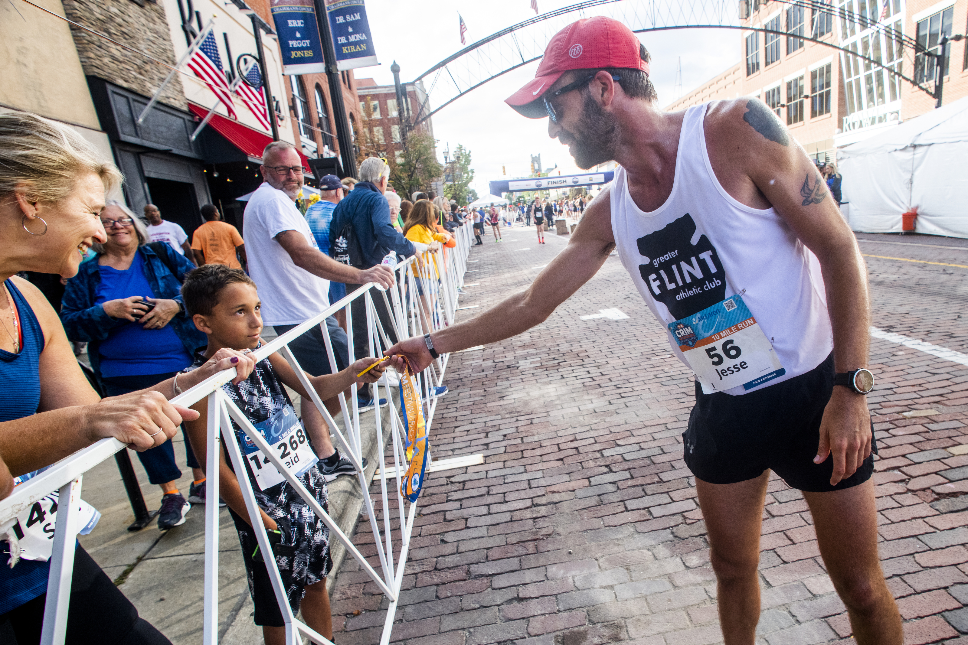 Flint man's family has raced Crim for three generations and running