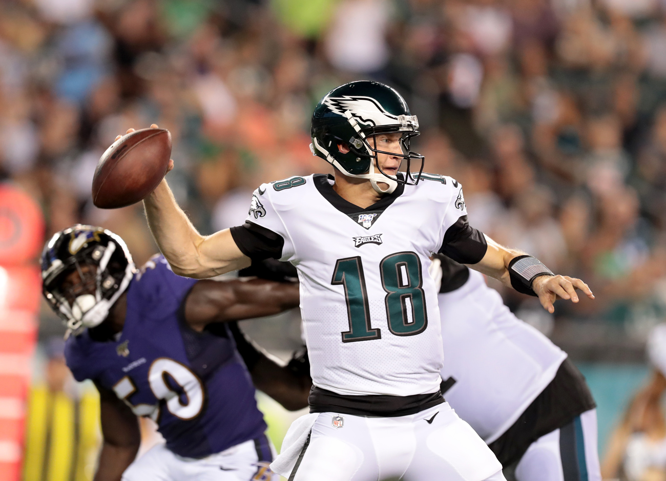 How did Eagles' Josh McCown play in debut vs. Ravens? Grading the QB's performance