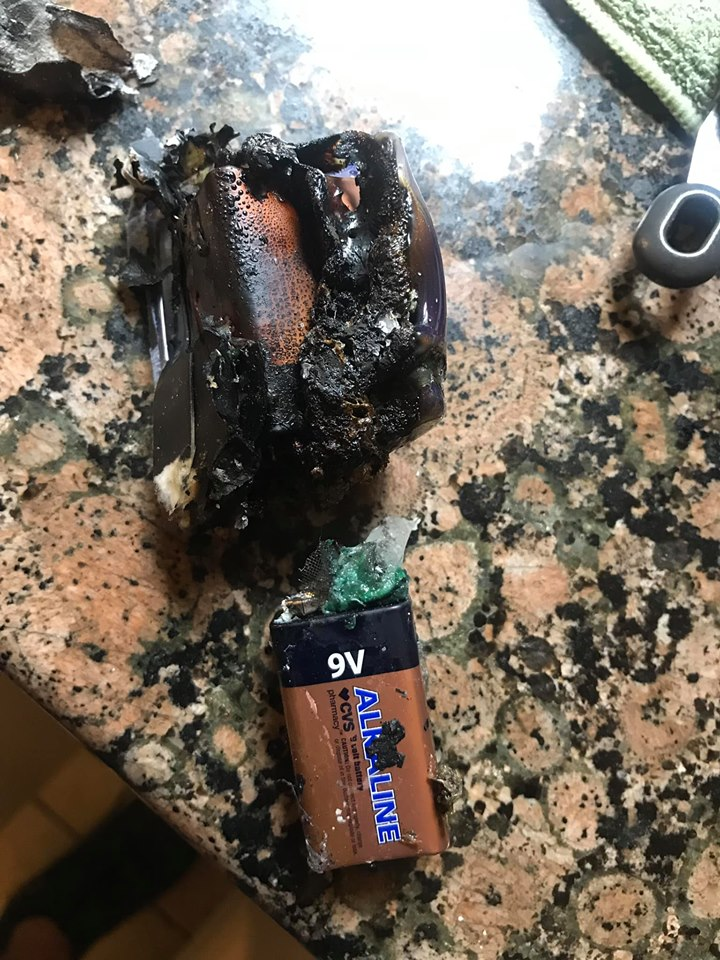 9-volt batteries caused a small house fire. The warning you need to know.