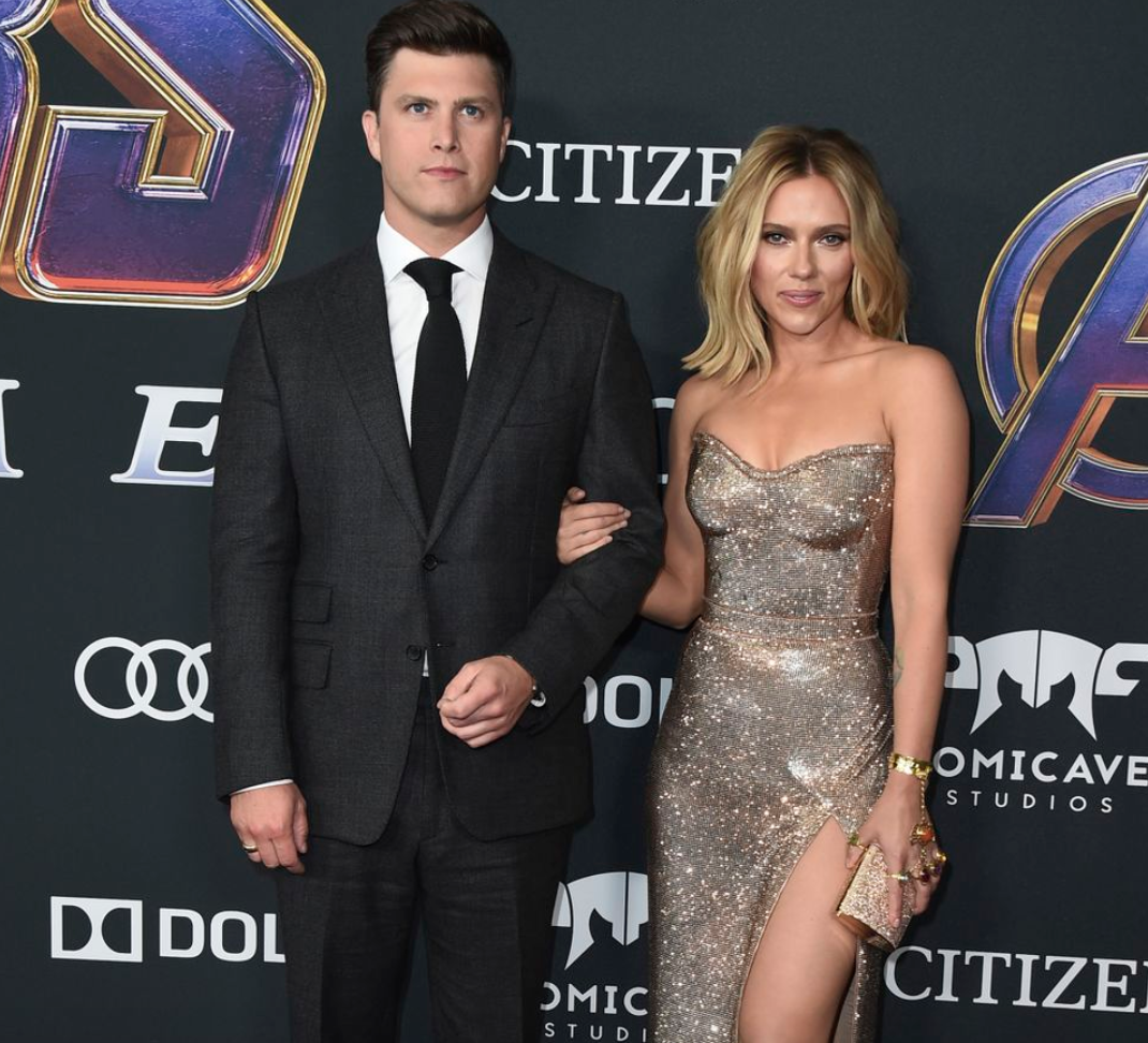 Scarlett Johansson's 11-carat engagement ring from Colin Jost makes its debut at Comic Con