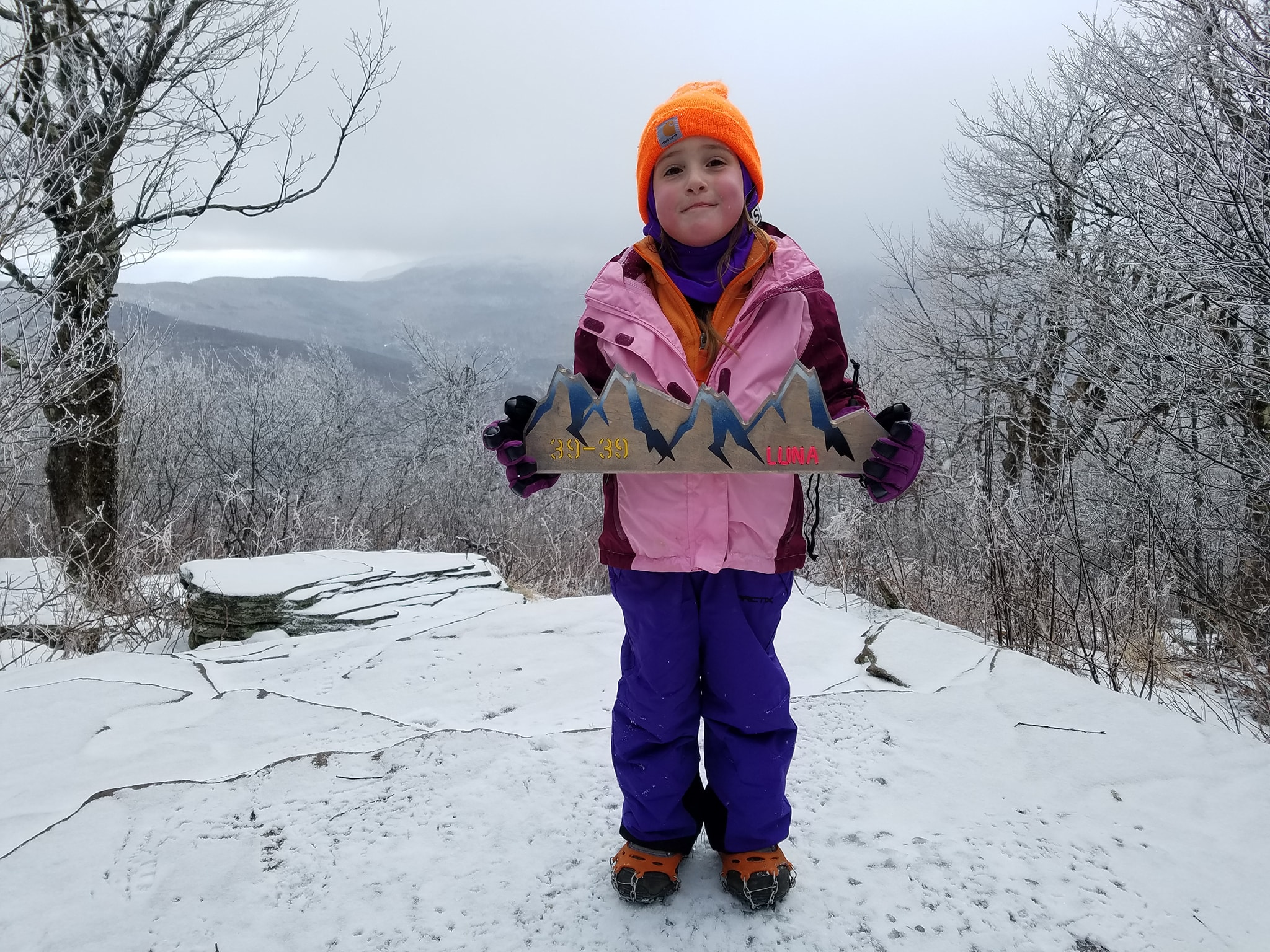 Princess of the Mountain: 4-year-old hikes 35 highest Catskill peaks