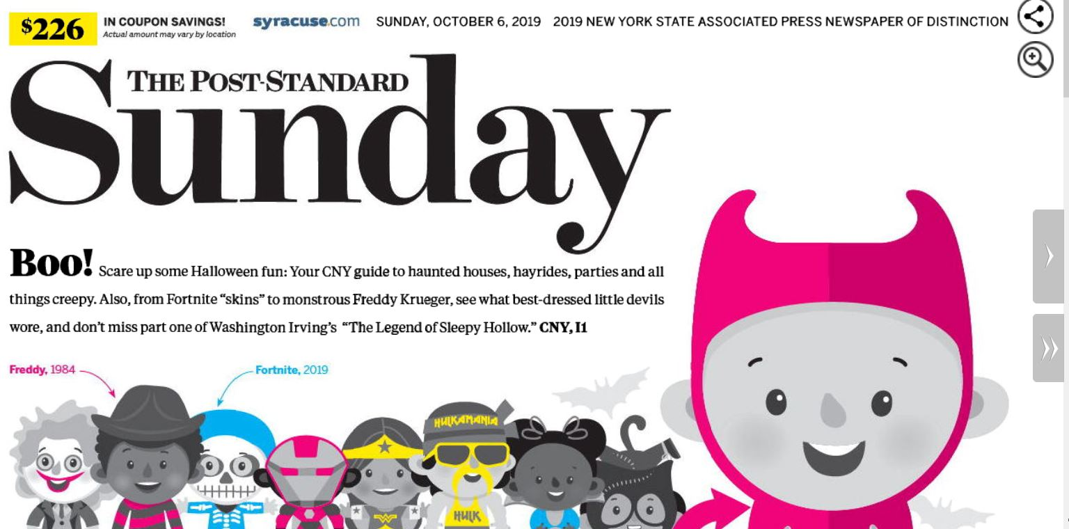 Press problem delays Post-Standard; all readers can see the digital edition now