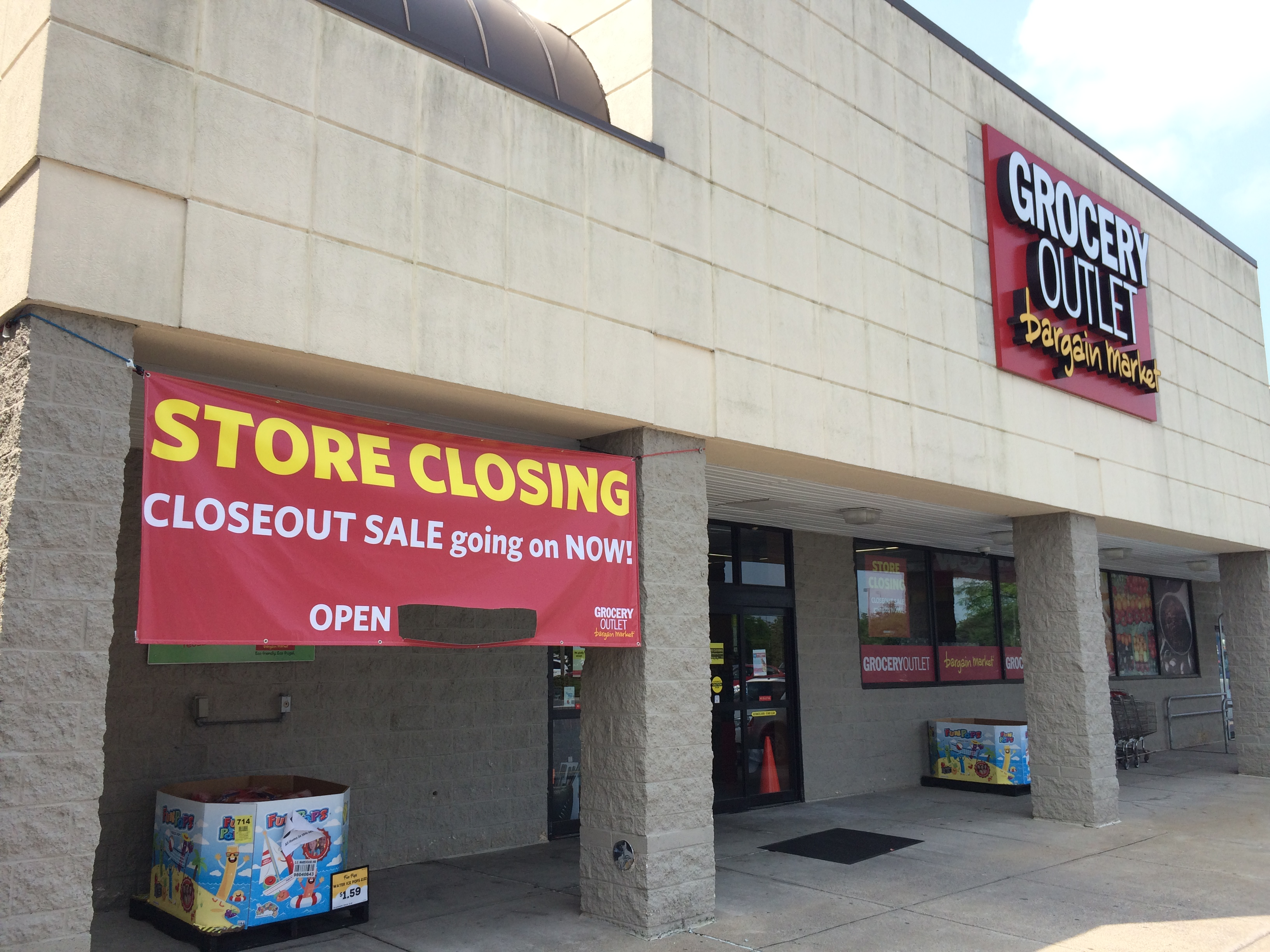 Grocery Outlet discount store in Hampden Township is closing