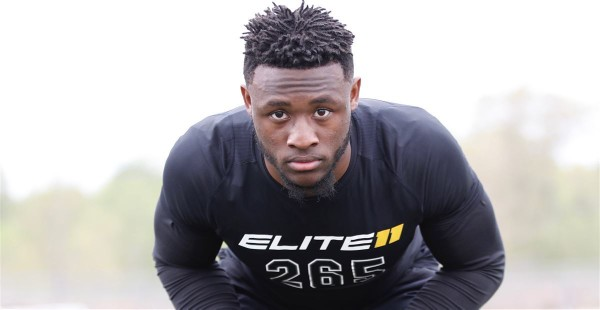 Owen Pappoe is one of Auburn's top commits in the Class of 2019.