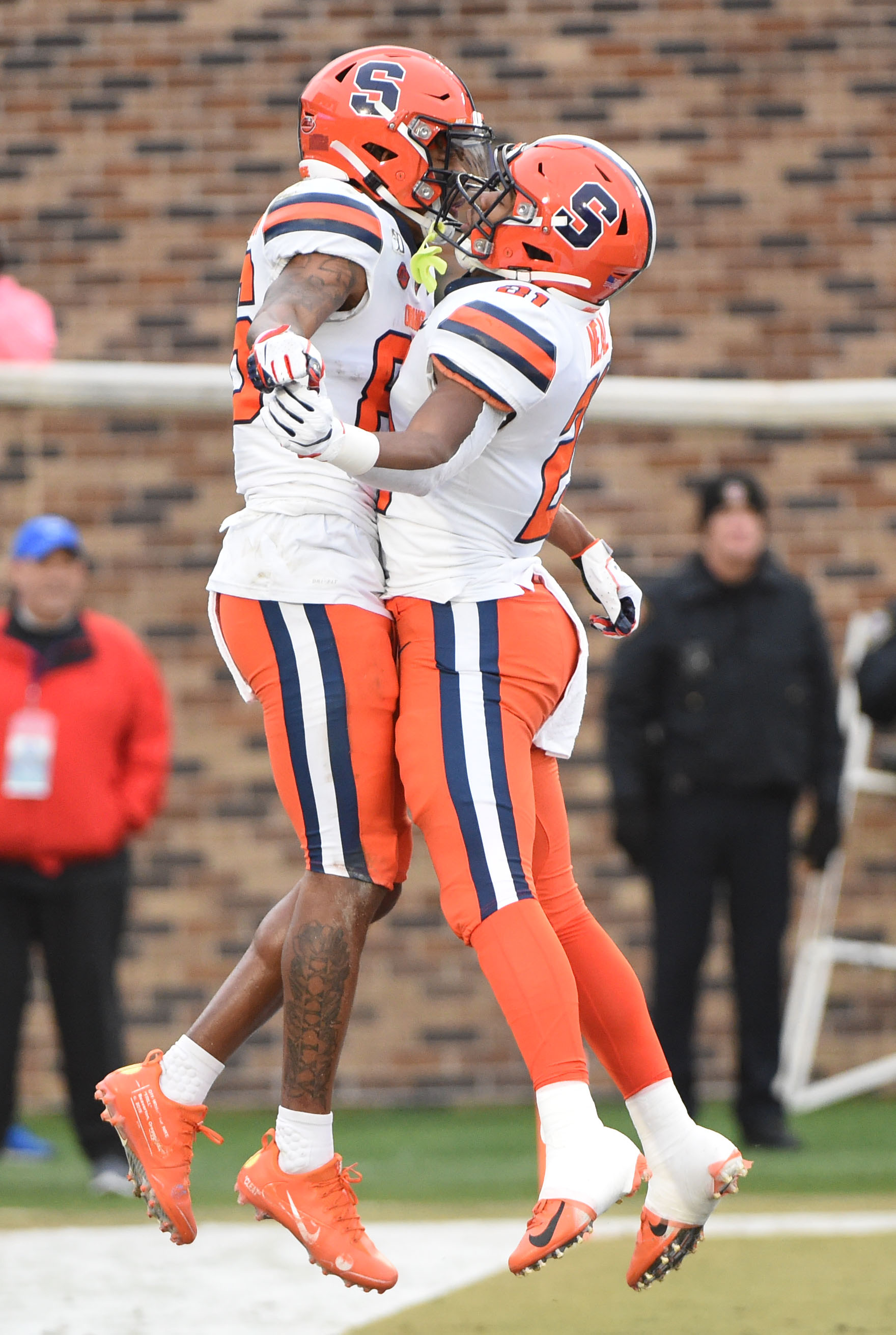 Syracuse football picks up first ACC win in 49-6 blowout win over Duke