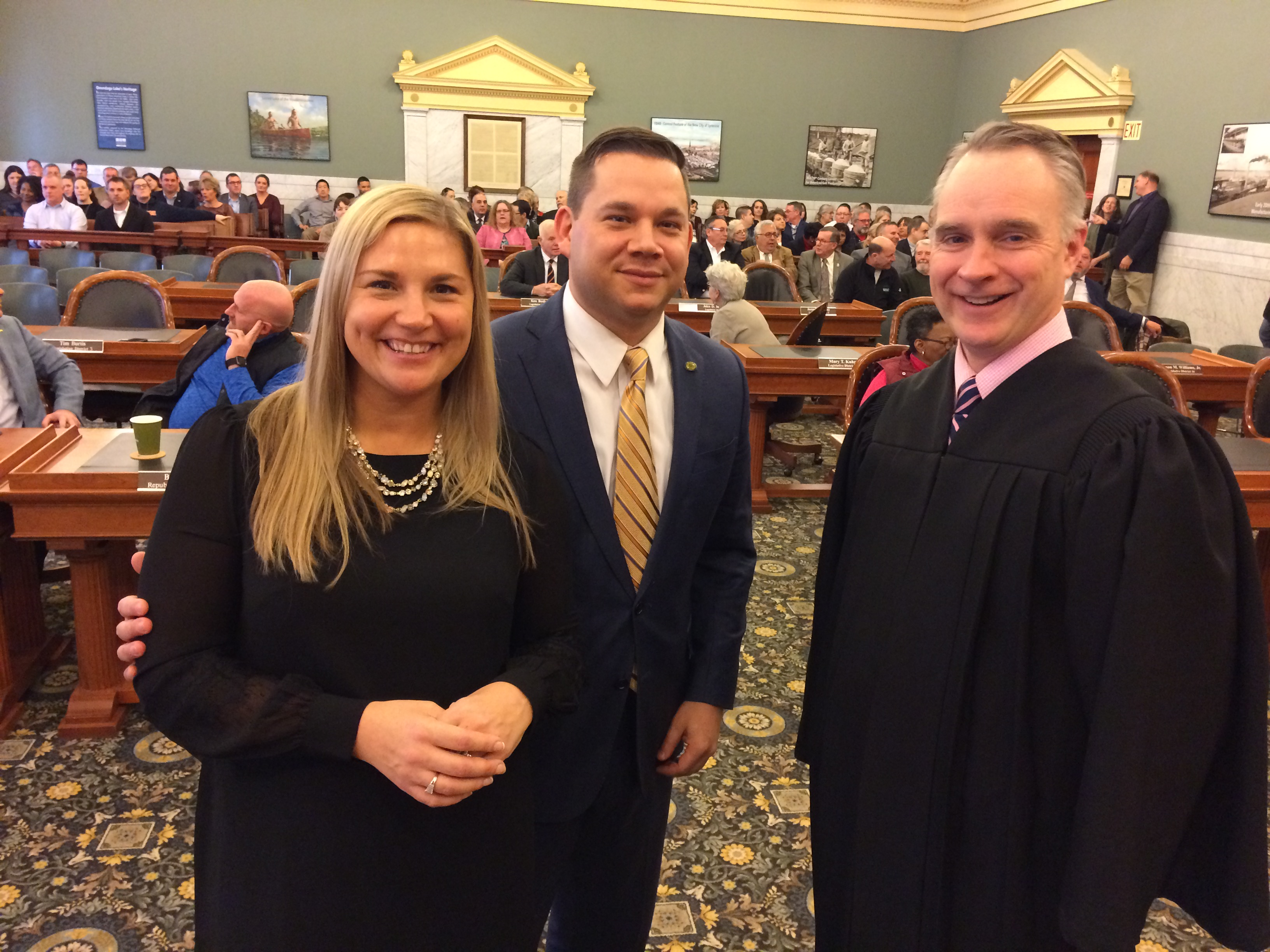 At formal swearing-in, McMahon promises collaboration will bring progress