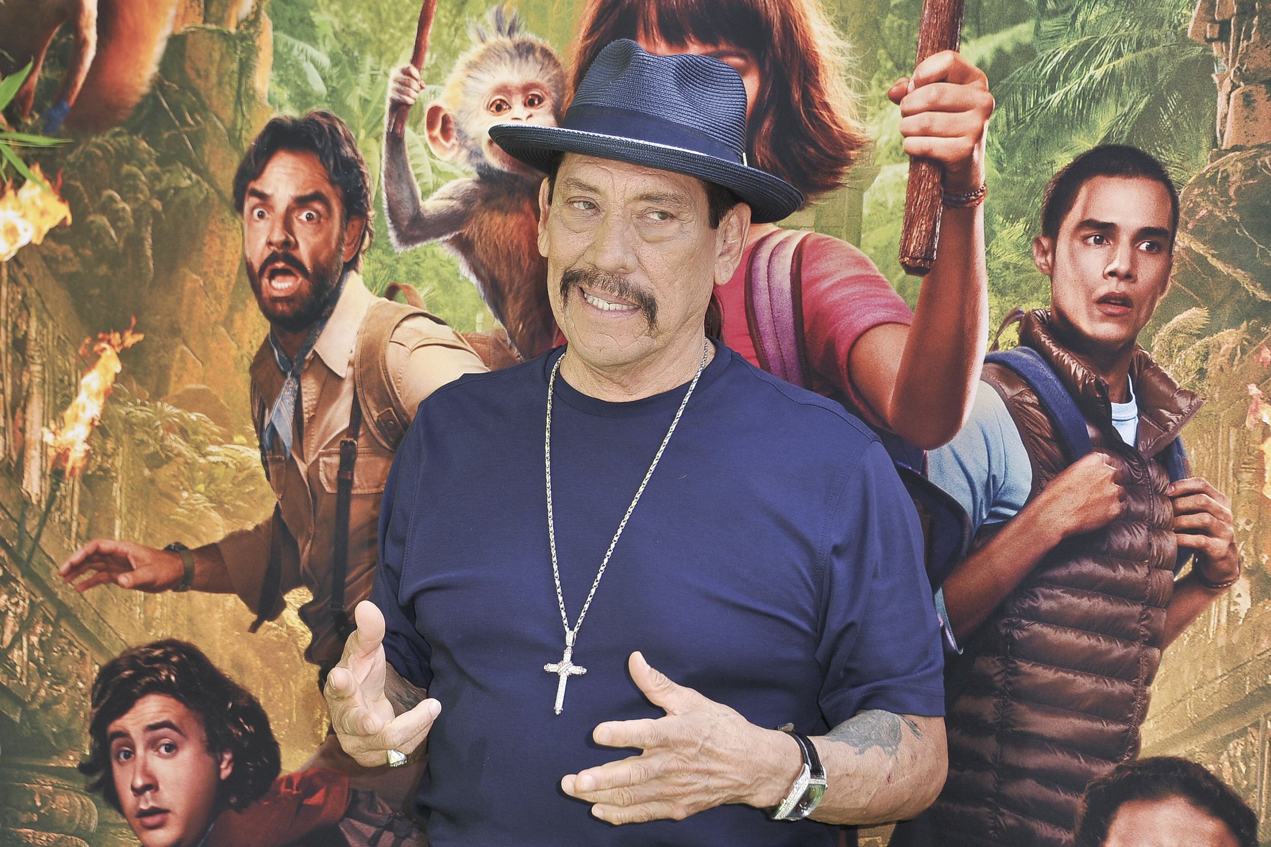 Actor Danny Trejo rescues child trapped in overturned car