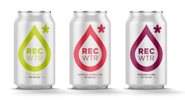RECwater will be offered in six packs of 12 oz. cans.