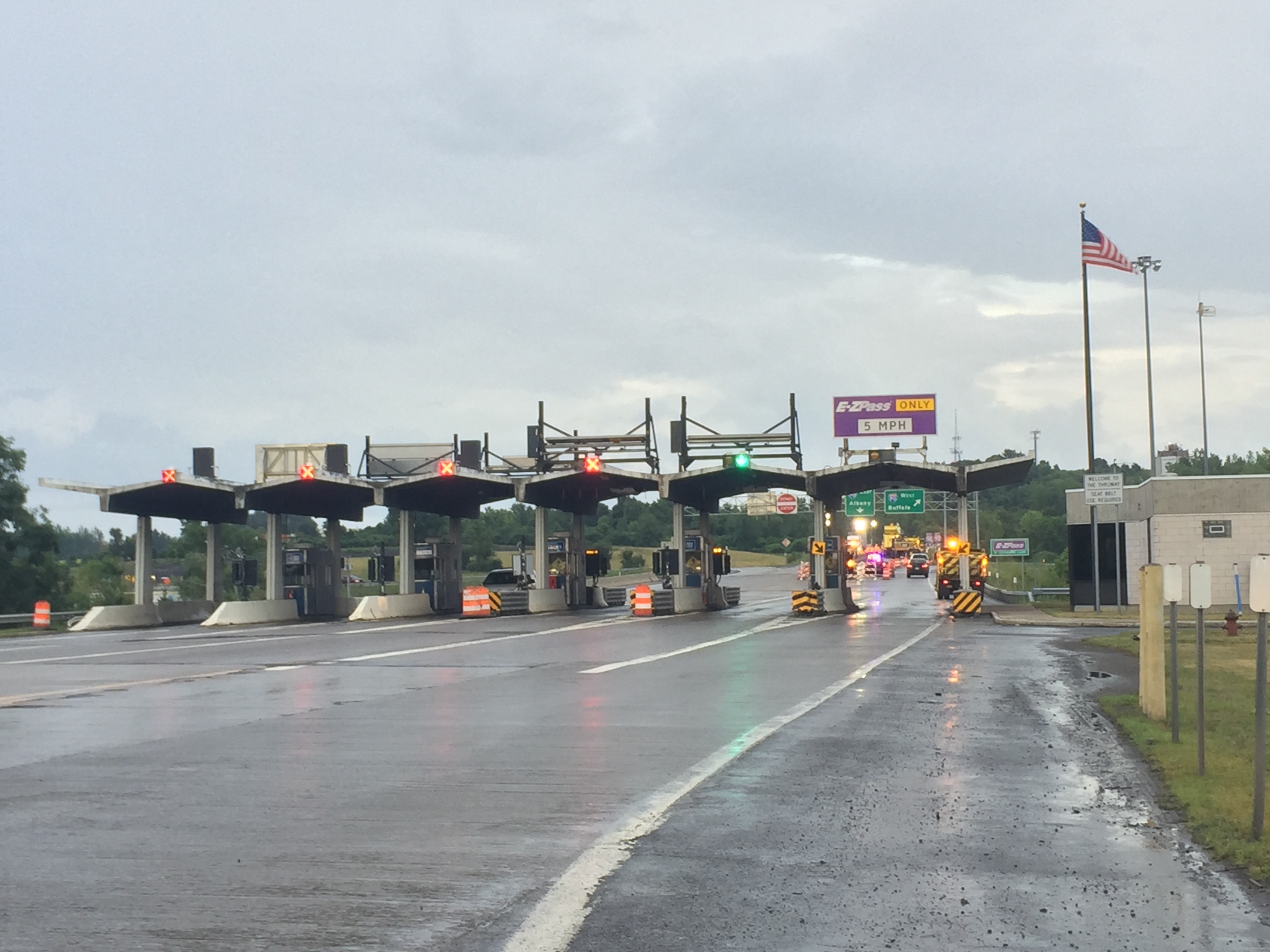 Thruway Authority will resume collecting tolls on Thursday