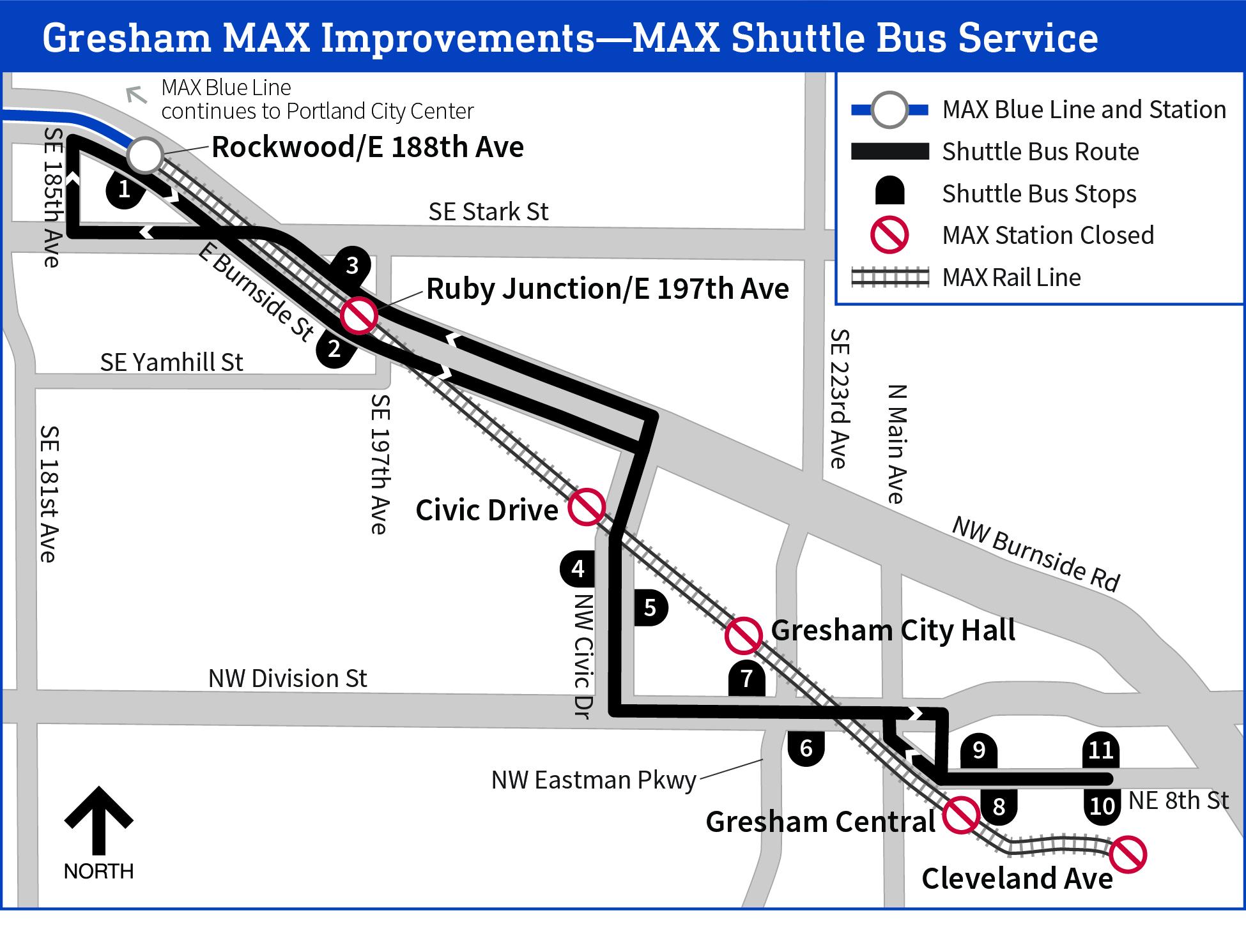 Portland metro Friday traffic: MAX Blue Line work starts this weekend