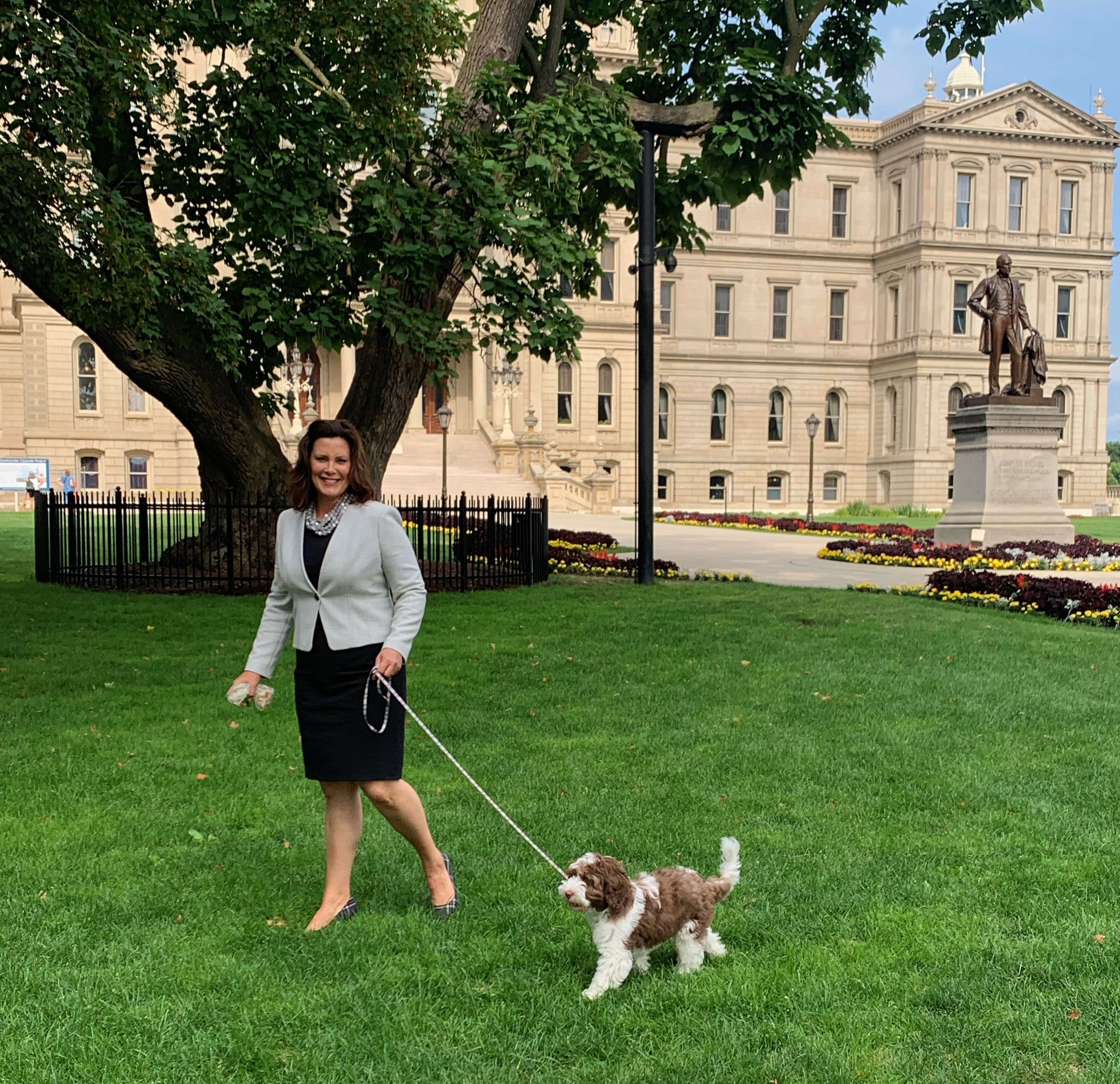 Gov Whitmer And Family Adopt Labradoodle Puppy Named Kevin Mlive Com