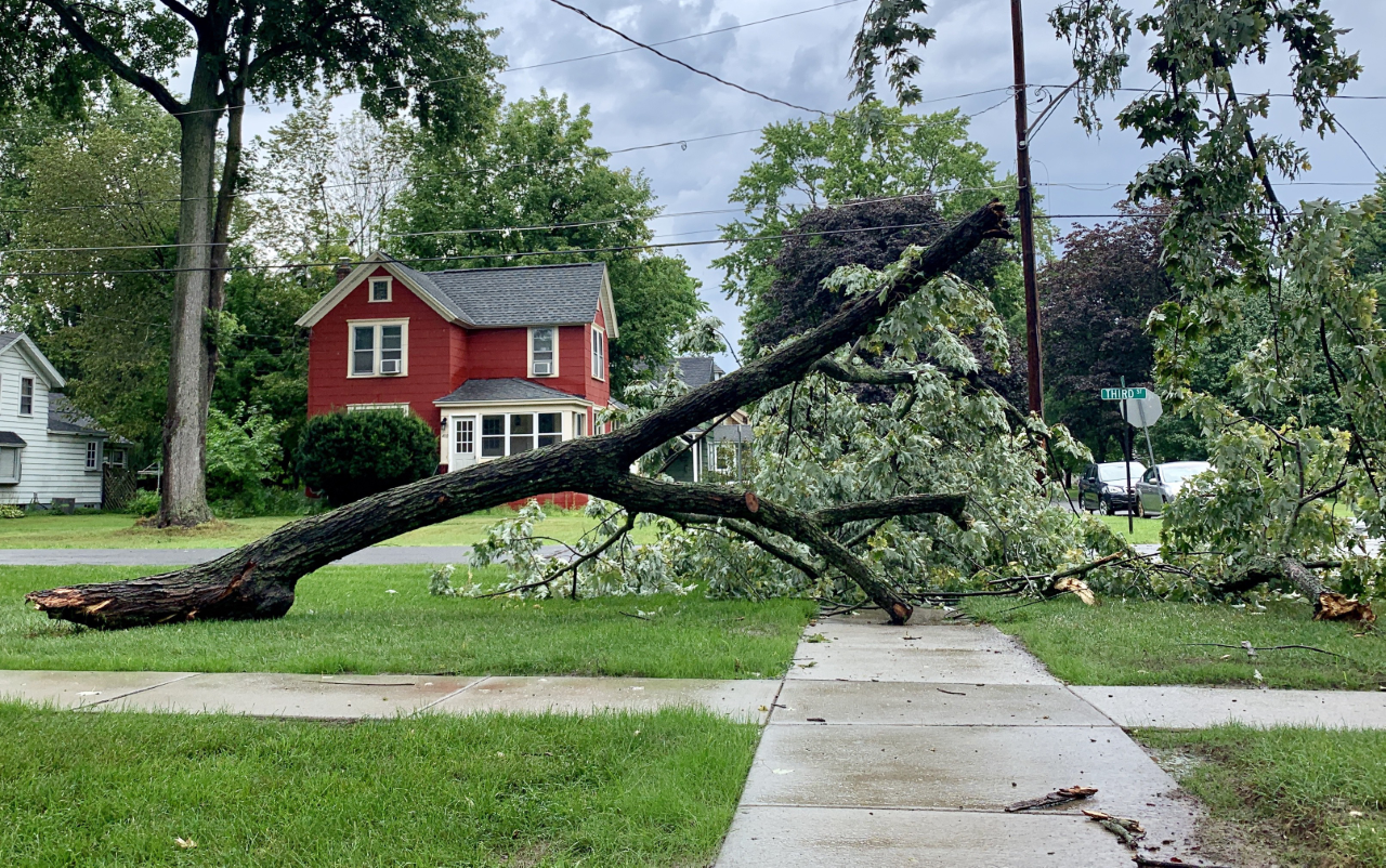 Storm causes more than 2,500 power outages across Central New York
