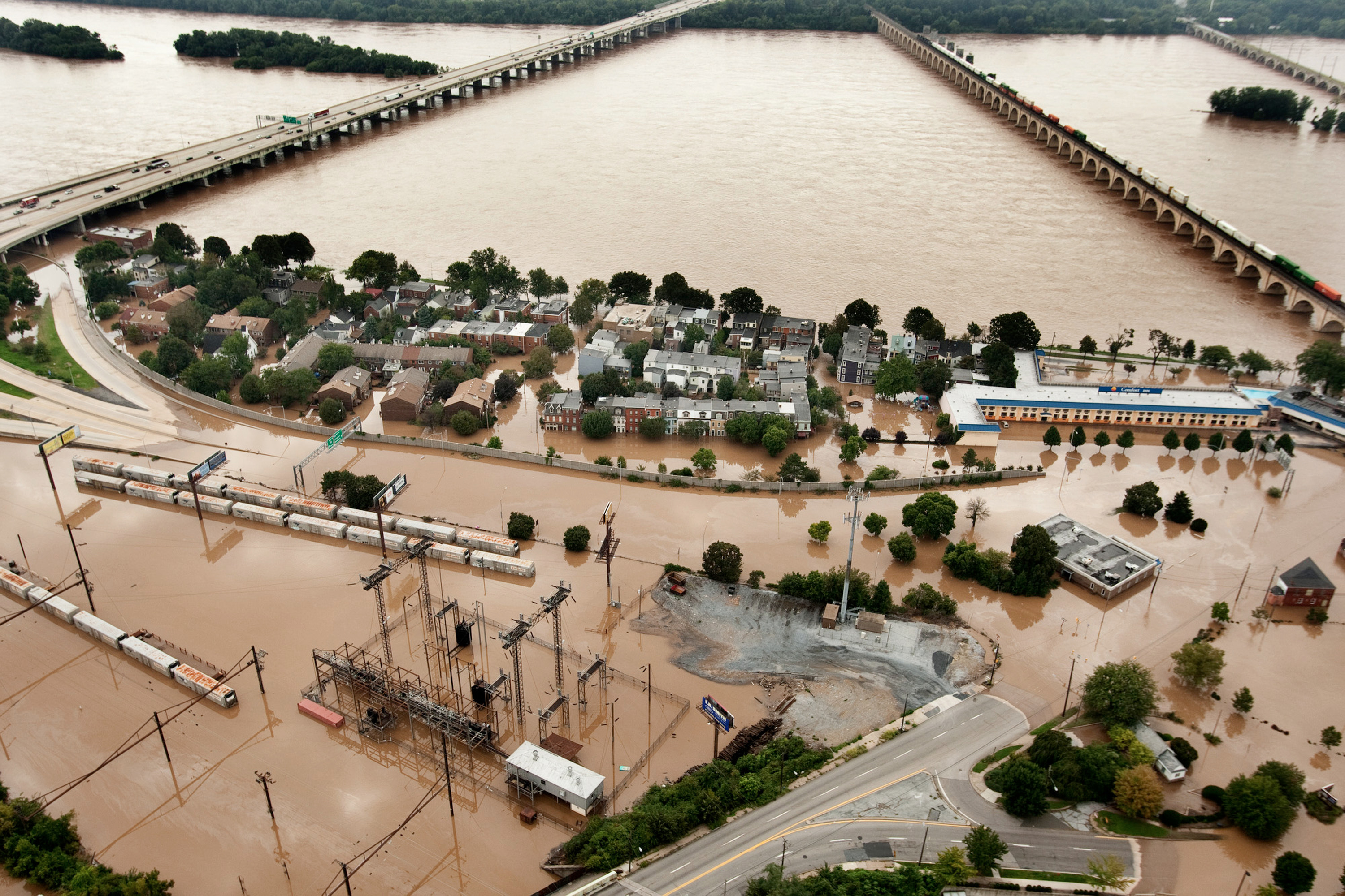 Central Pa.'s 100-year flood - Tropical Storm Lee in 2011
