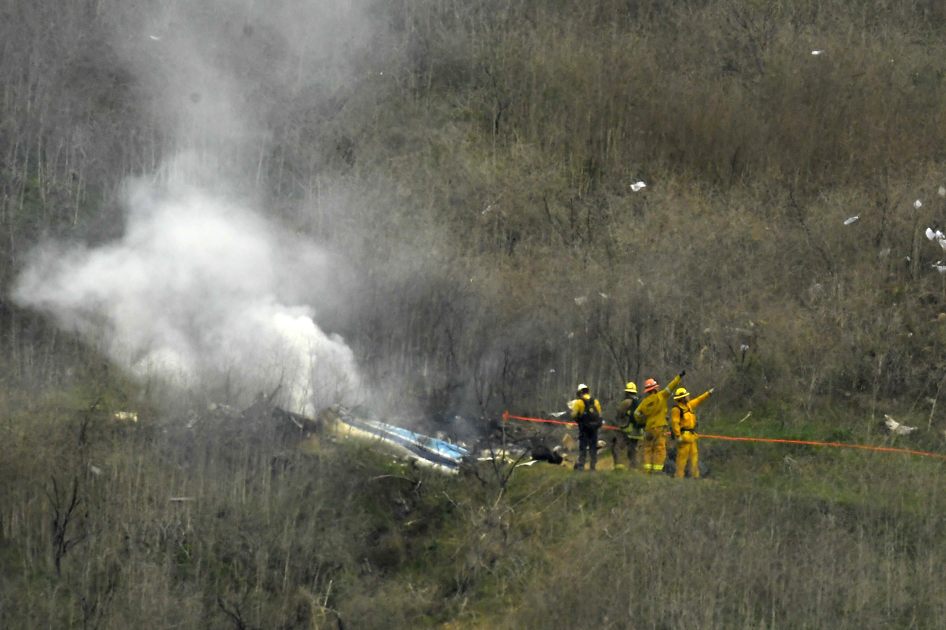 3 other victims in Kobe Bryant helicopter crash identified as baseball coach, family
