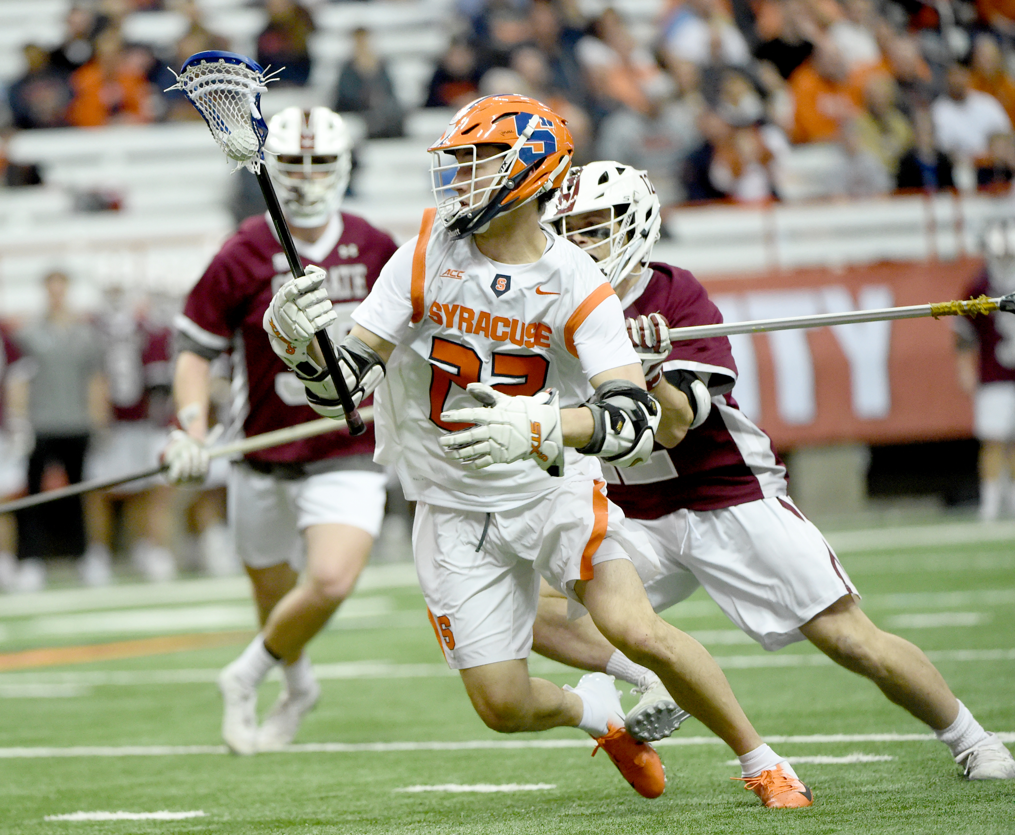 Ric Beardsley on debut of Syracuse lacrosse's Chase Scanlan: 'He's the new, shiny No. 22′