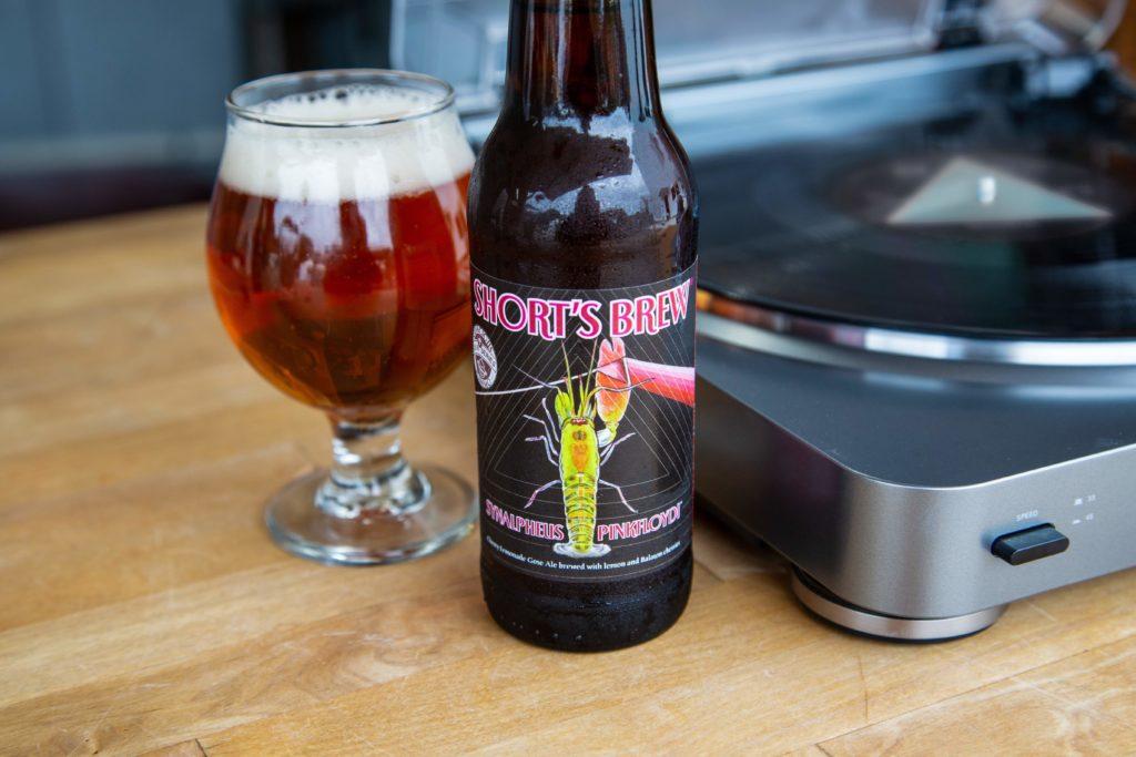 Short's Brewing beer is inspired by Pink Floyd legend, shrimp with killer sound