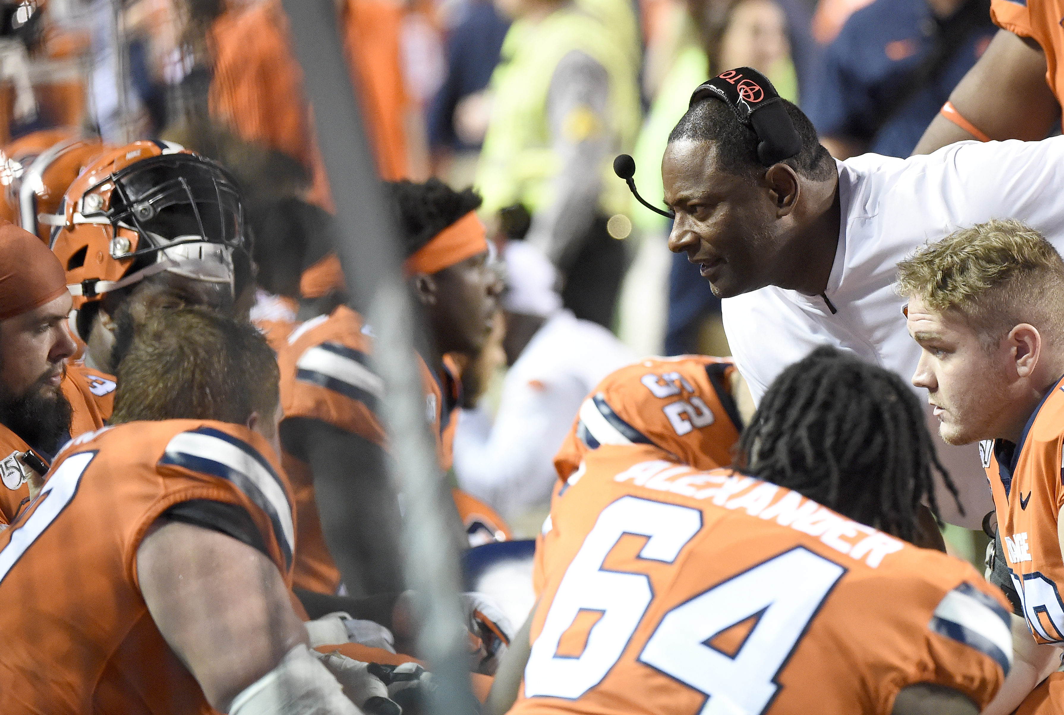 Dino Babers is putting the offensive line under the microscope. Are changes coming?