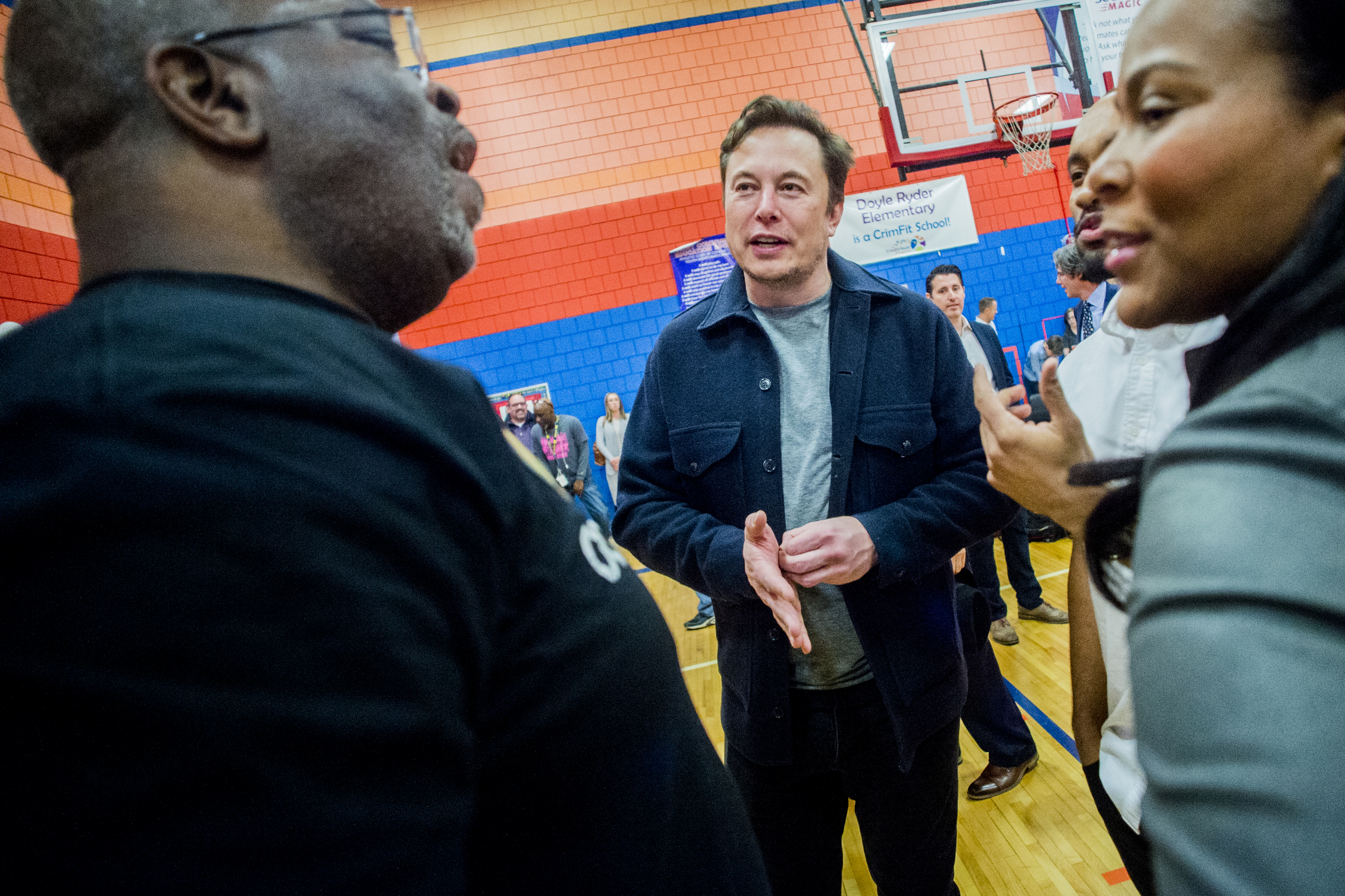 Elon Musk-funded water stations to be installed in Flint school buildings in coming months