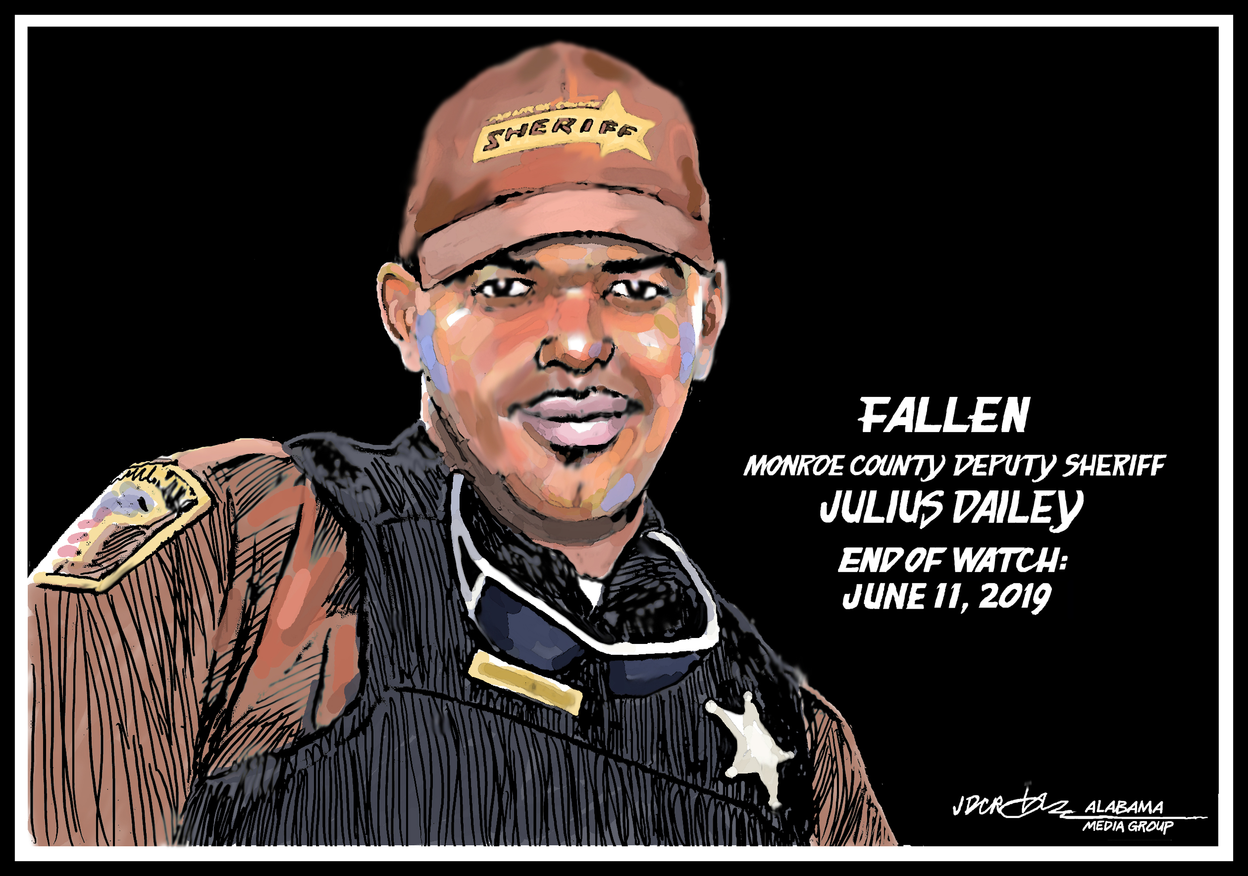 Julius Dailey: Tribute to Monroe County deputy sheriff - al com
