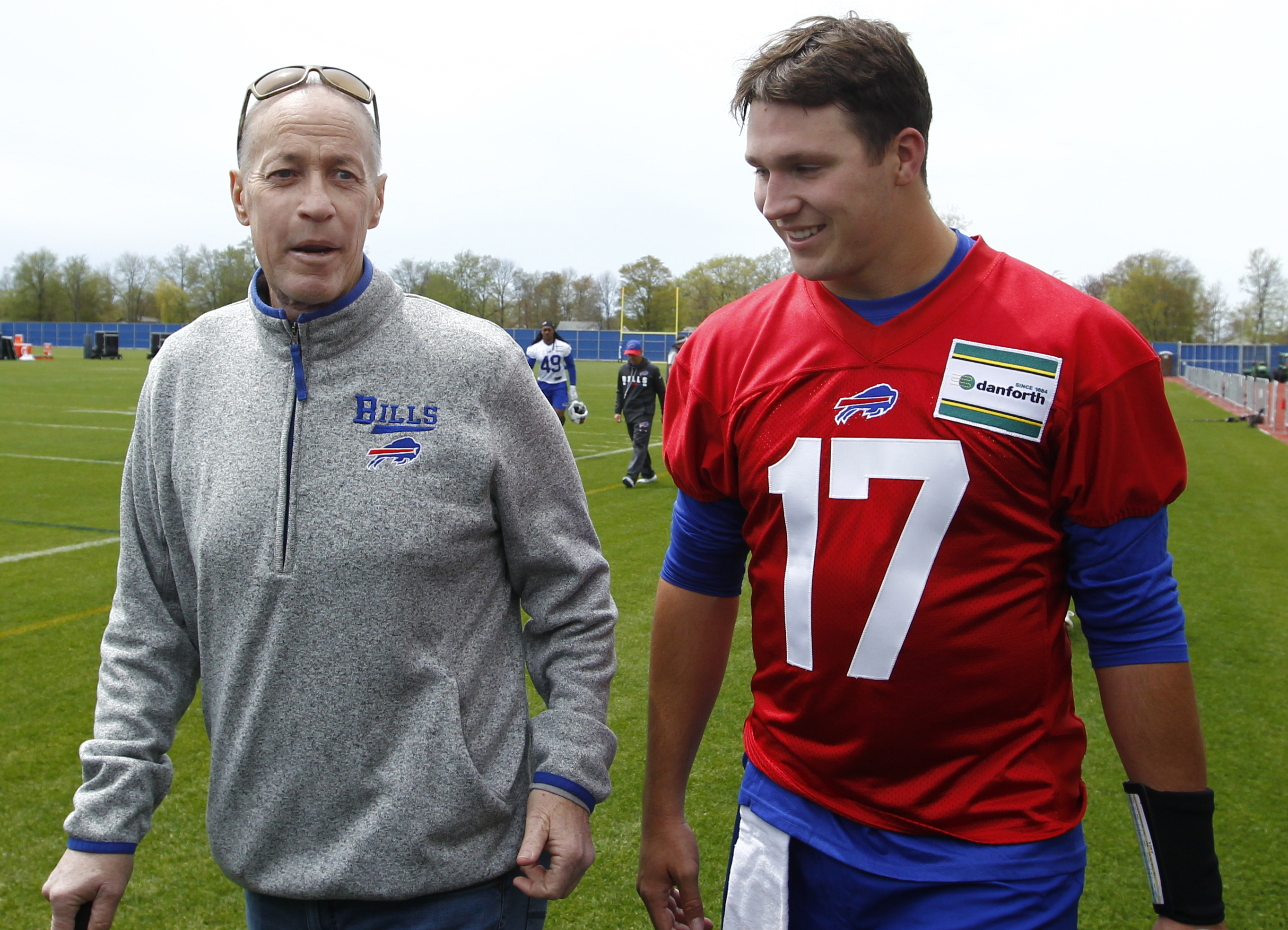 Bills legend Jim Kelly and Josh Allen had same 'Only team in NY' quote 33 years apart