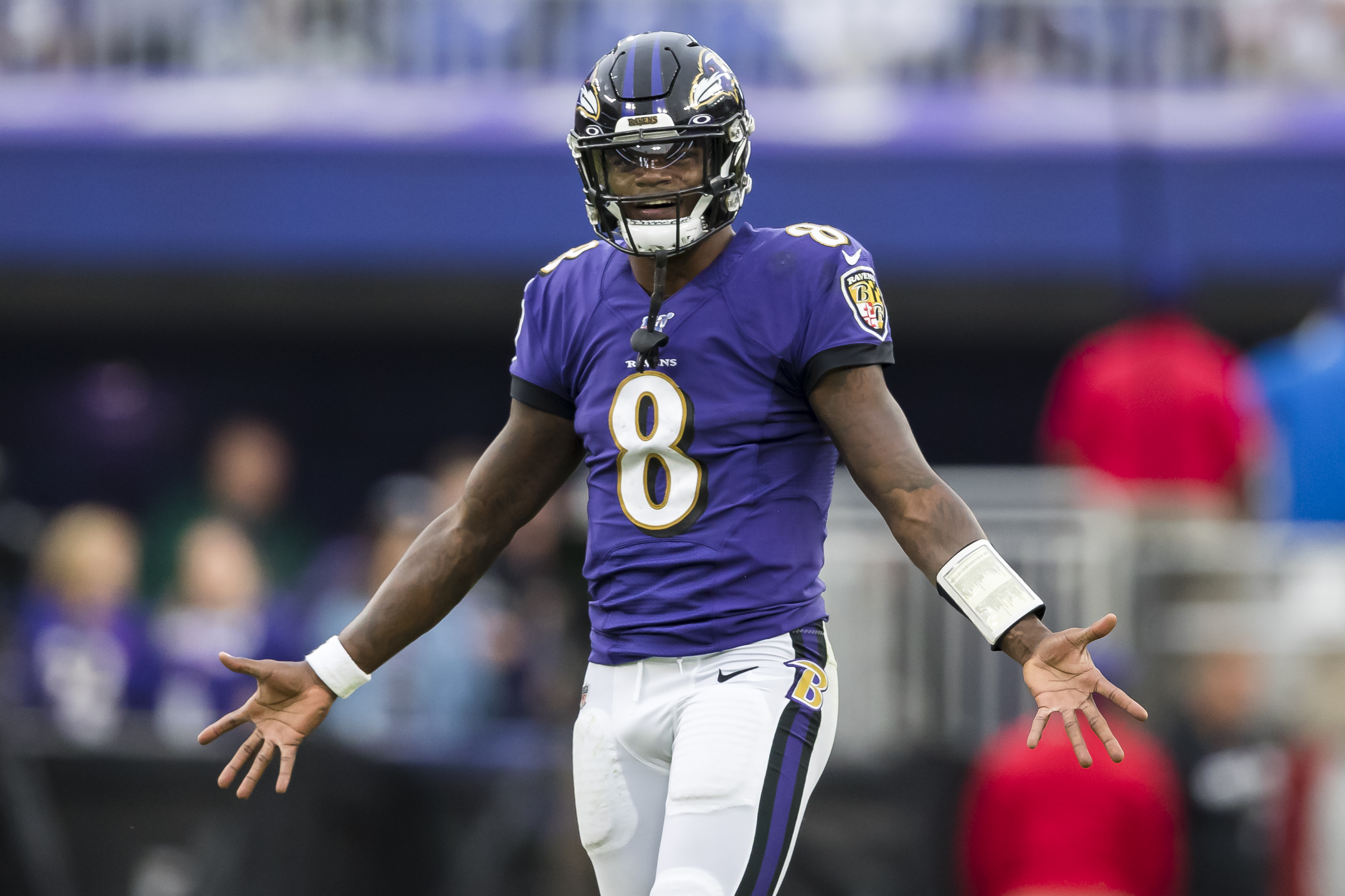 There Only One Lamar Jackson In The Nfl So Who Do Patriots Use To Simulate Him That S A Mystery Masslive Com