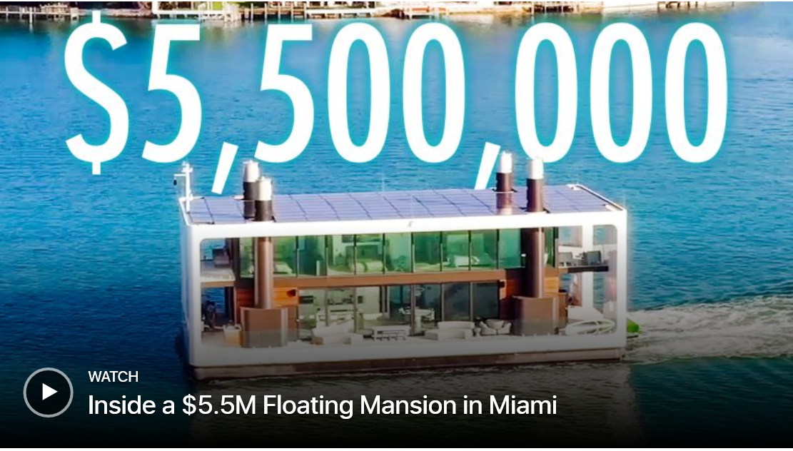 See inside this $5.5M floating mansion