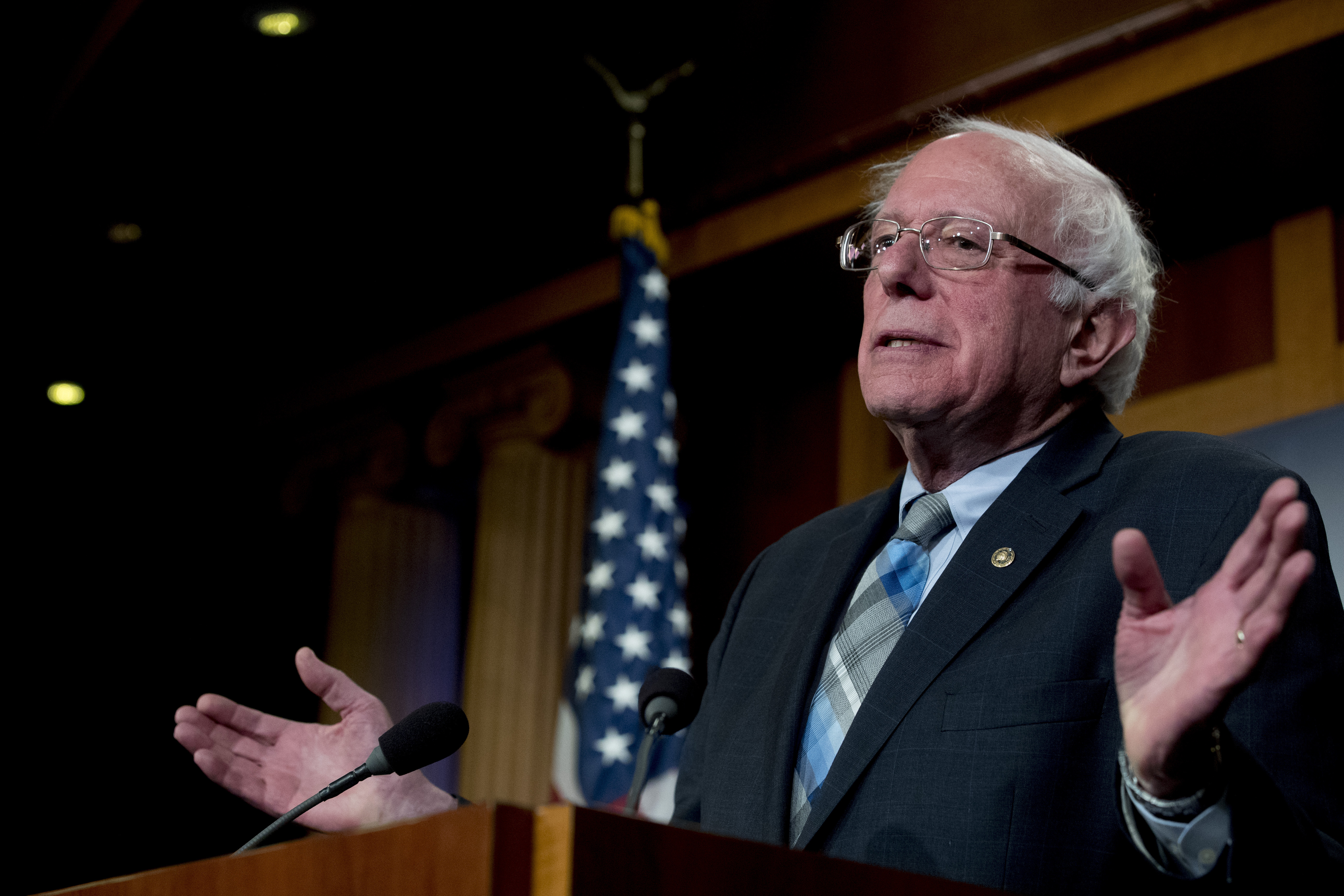 How will Sanders 2.0 stand out in crowd? (Editorial)