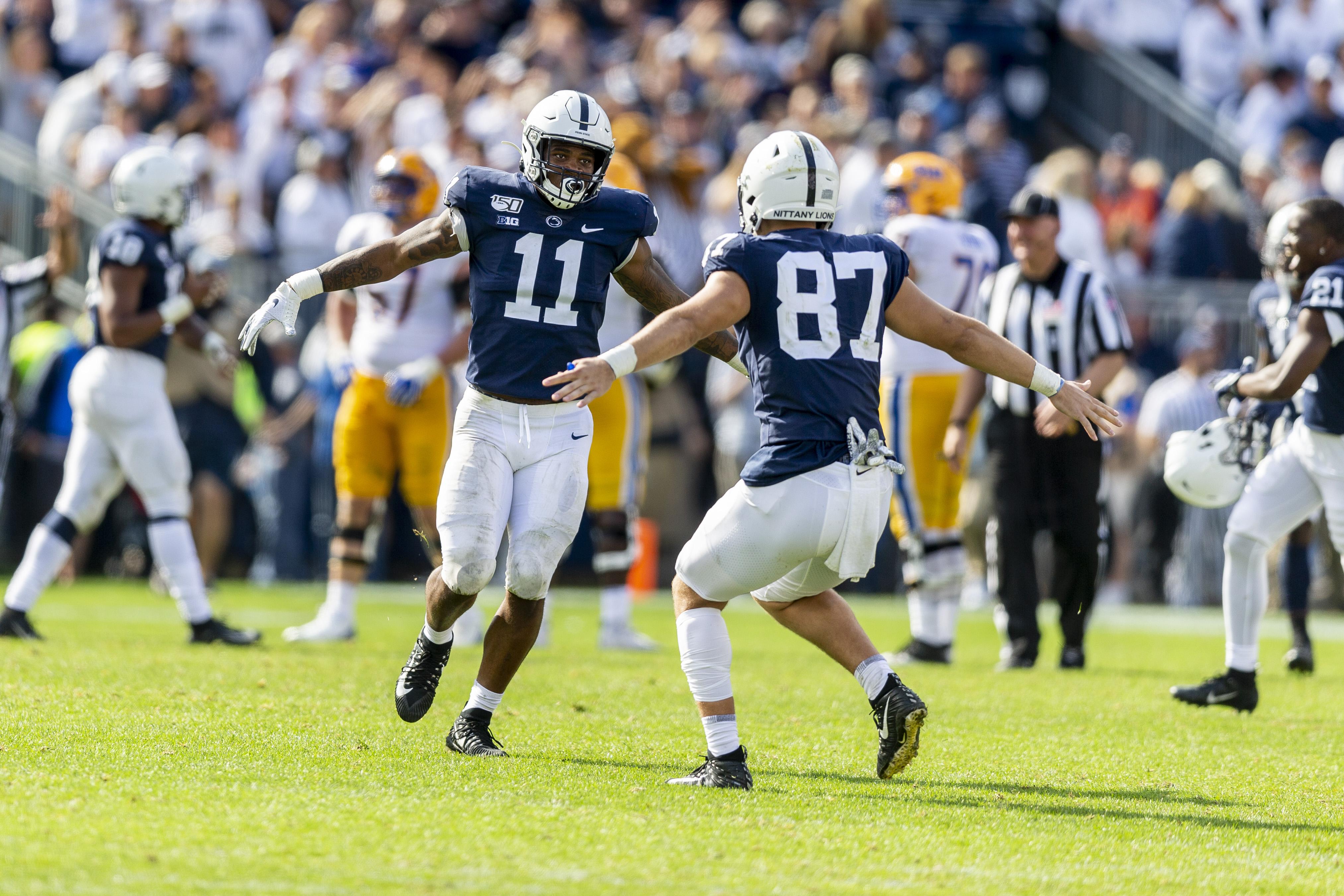 Penn State kicker Jordan Stout reveals how it felt to make record-setting 57-yard kick
