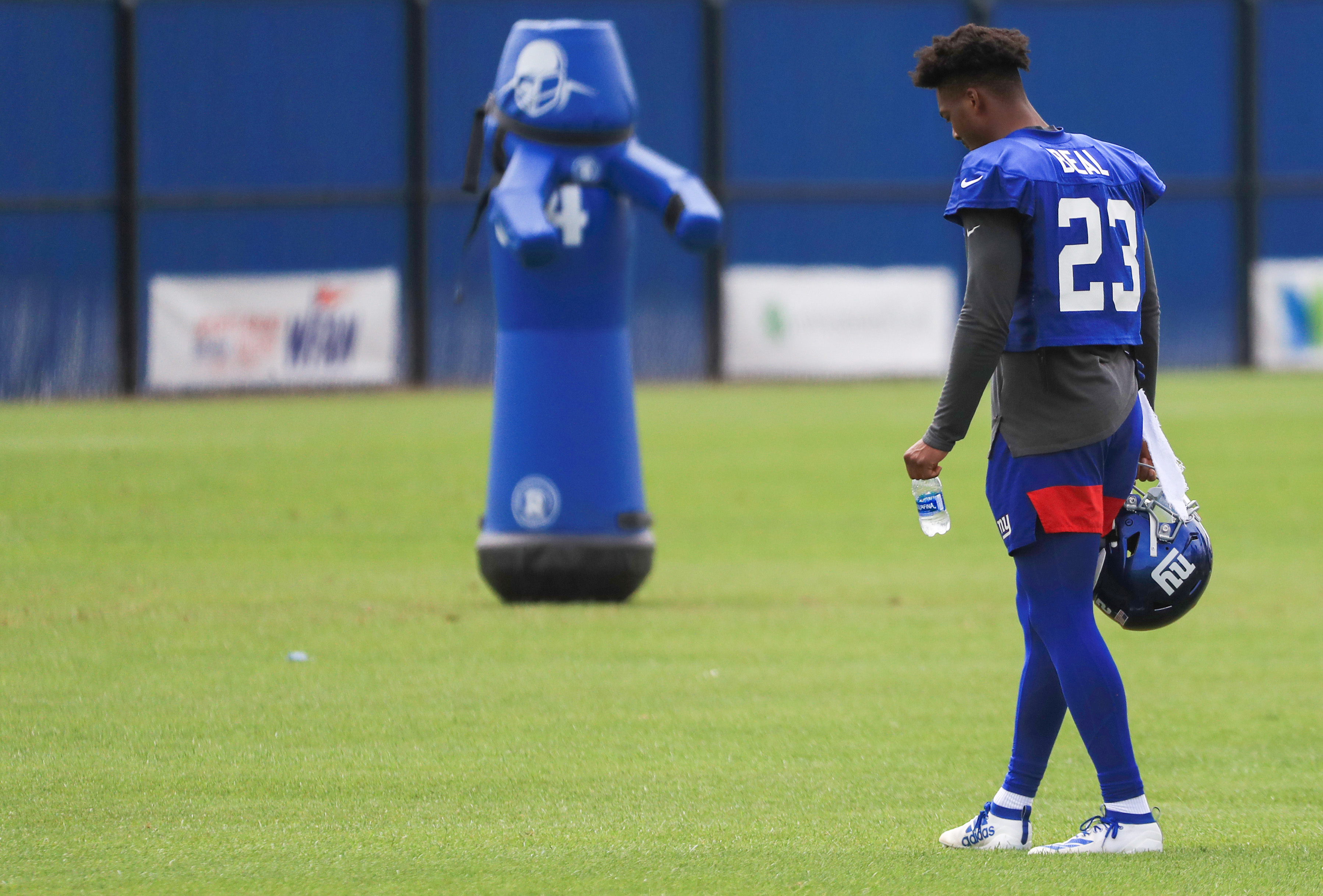Giants' Sam Beal willing to play in slot with DeAndre Baker, Janoris Jenkins to form 'DB crew you don't want to mess with'