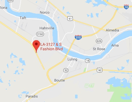 A New Orleans dump truck driver died after his car caught on fire after he swerved off the highway late Saturday morning (Oct. 20).