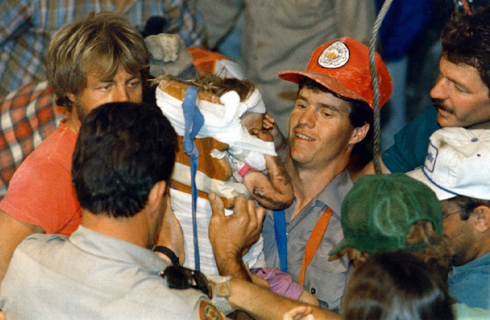 "'I'll never forget her singing ""Winnie the Pooh""': the rescue of Baby Jessica in 1987"