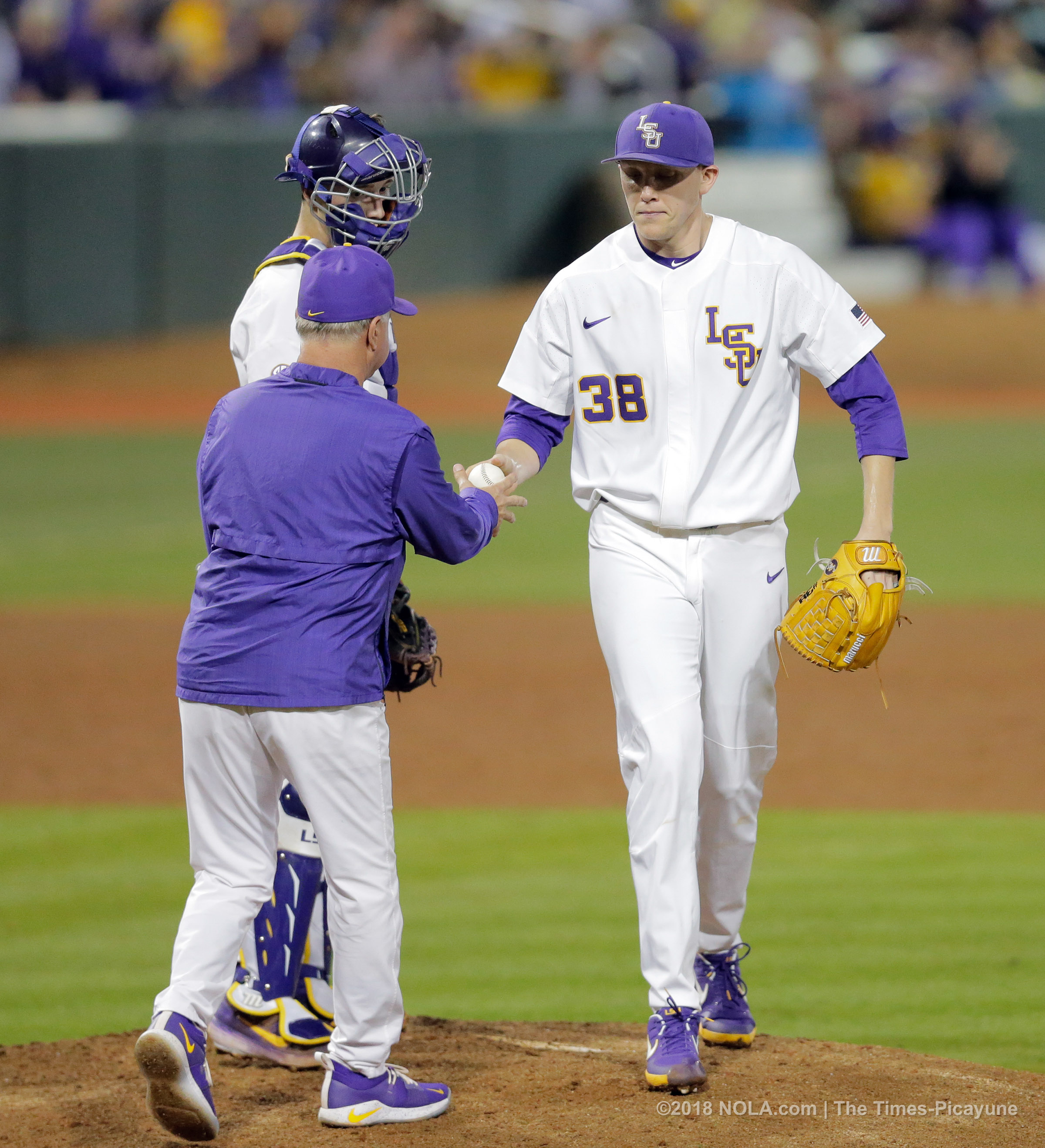 How the hitless Josh Smith came up clutch in LSU's walk ...