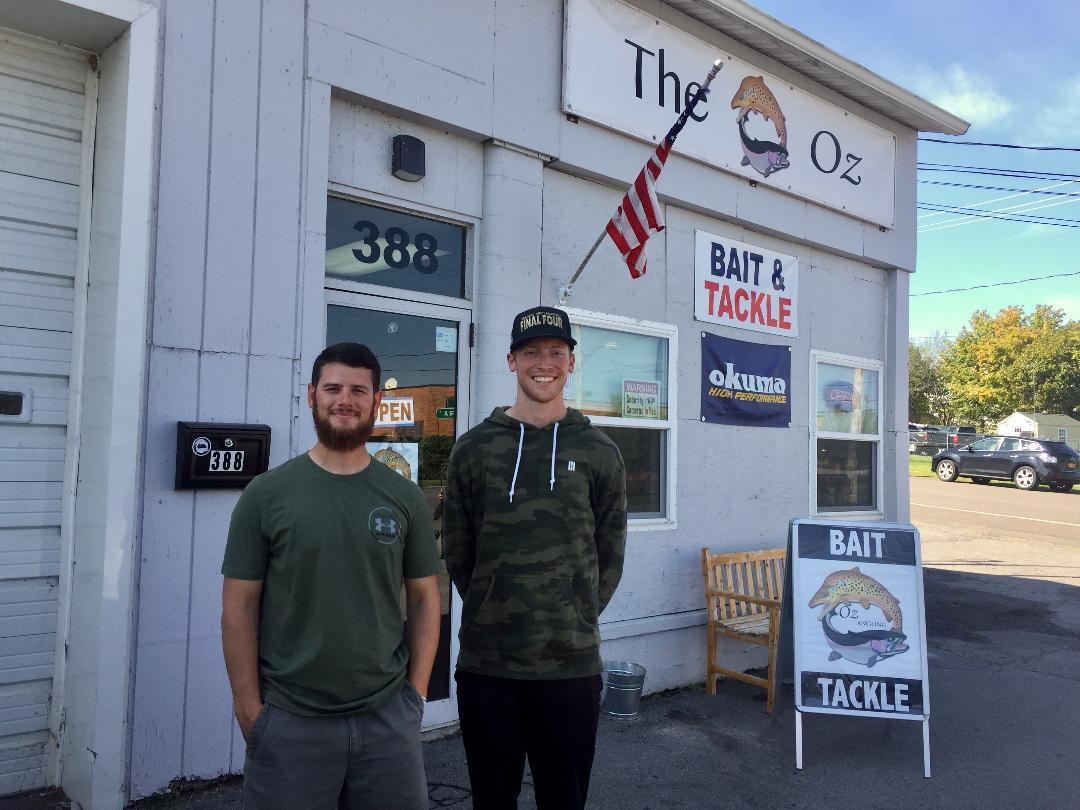 The Oz: New business is talk of Oswego River salmon fishing crowd - NewYorkUpstate.com