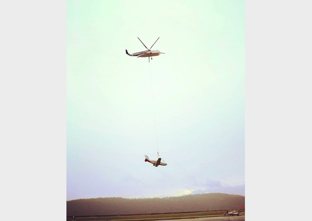 Plane pulled by helicopter from Susquehanna River to be transported to Delaware today