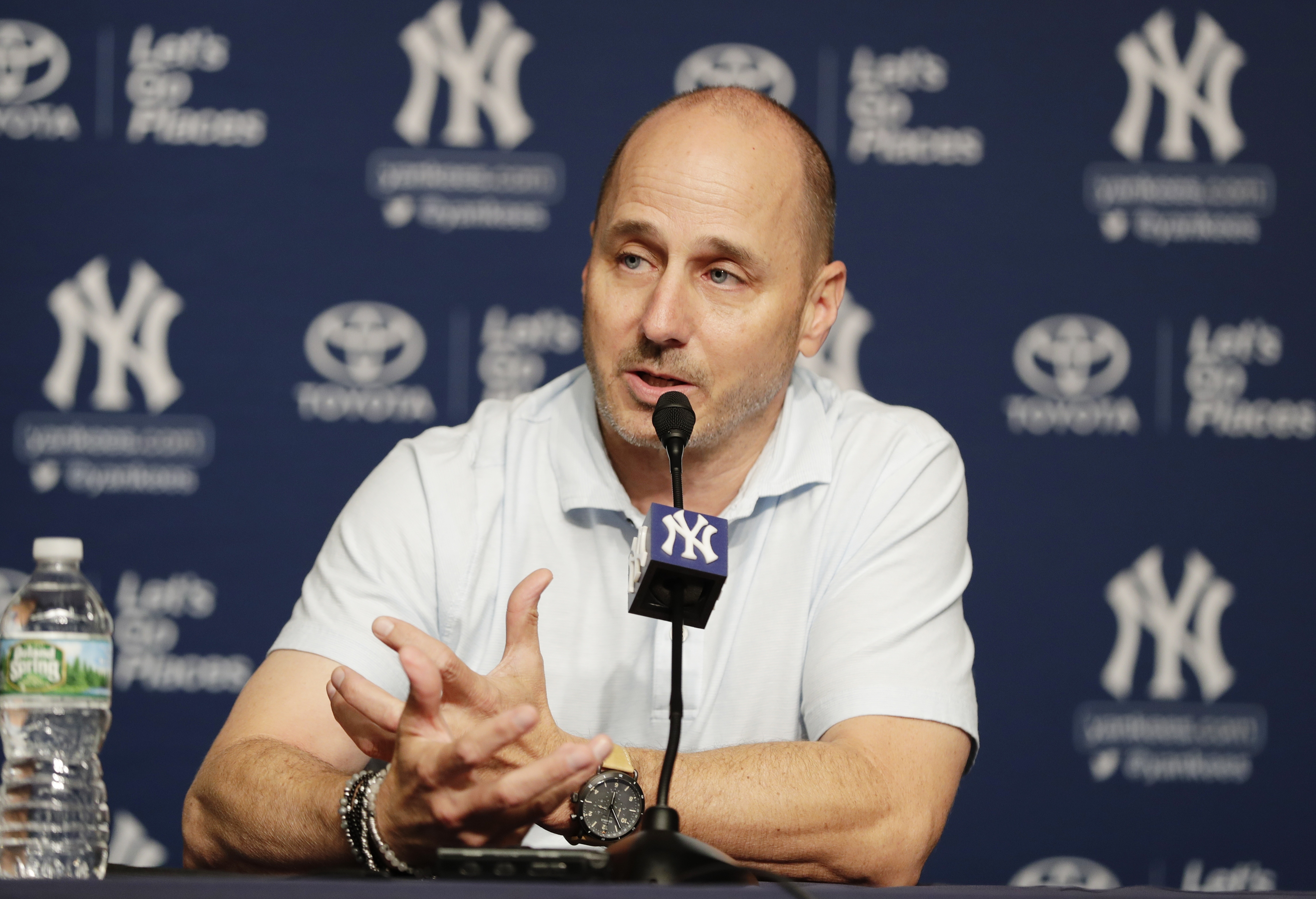11 takeaways from Yankees' Brian Cashman: Updates on Clint Frazier, James  Paxton, Giancarlo Stanton, more - nj.com