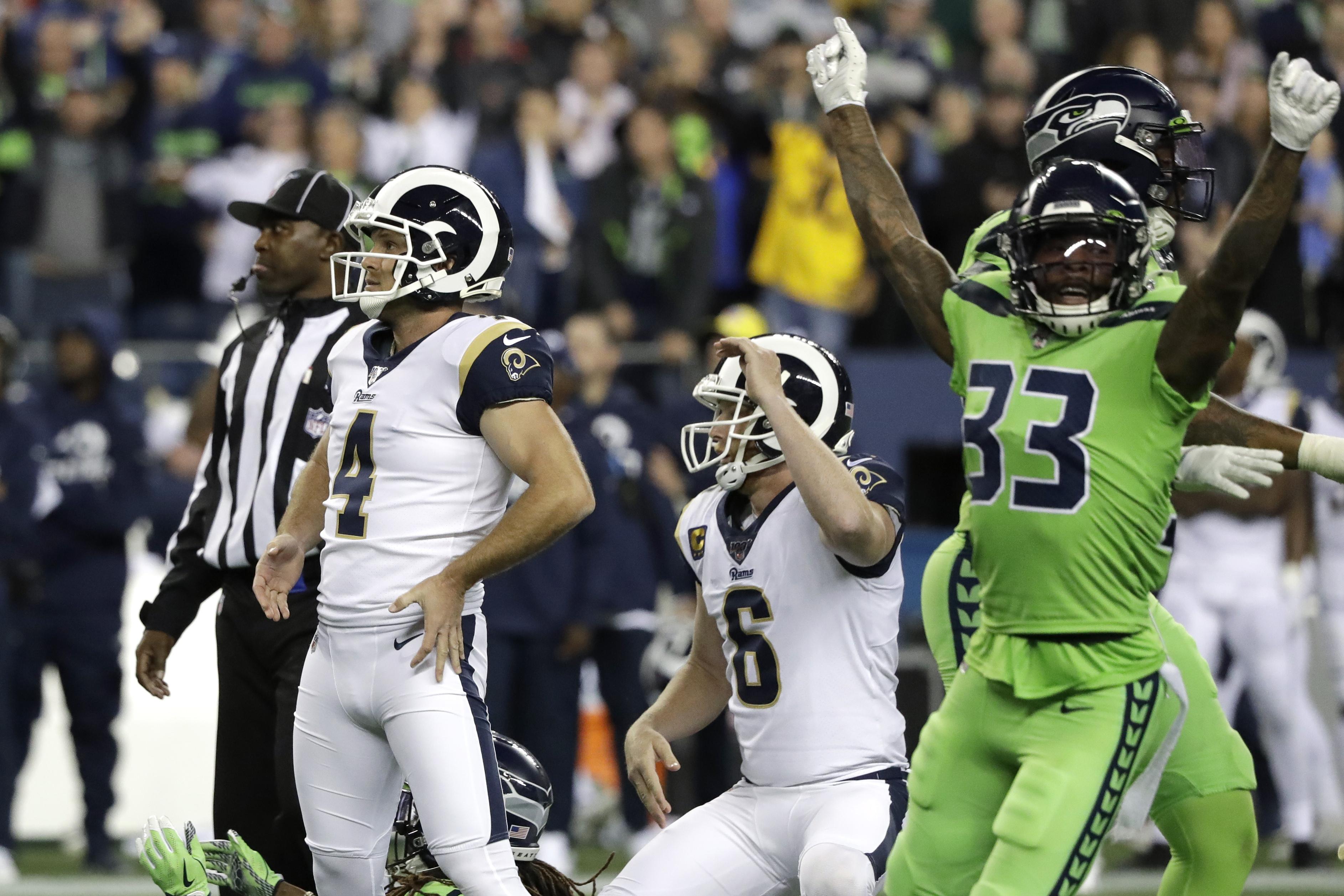 Los Angeles Rams Vs Seattle Seahawks Recap Score Stats