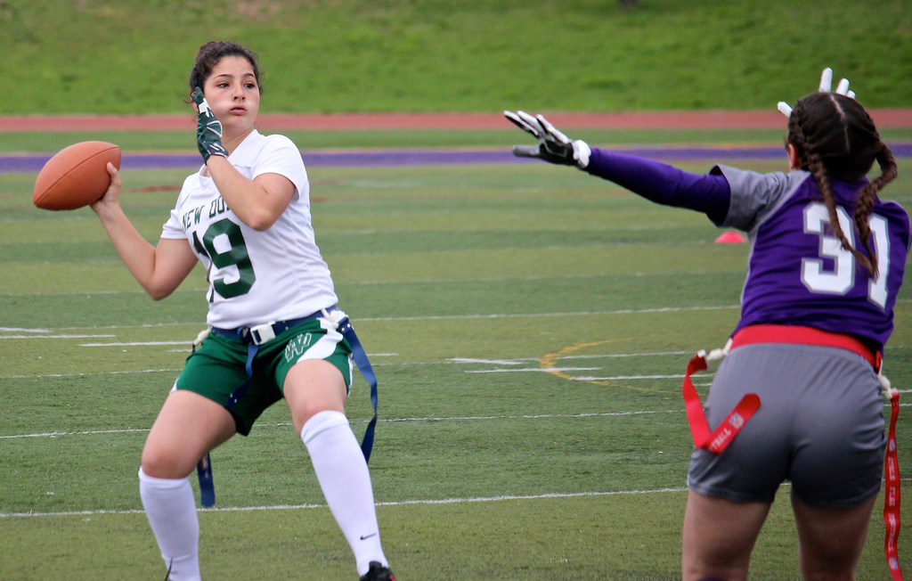 FINAL TALLY: New Dorp's Olivia Kenny is your top offensive player in Staten Island's PSAL flag football circuit