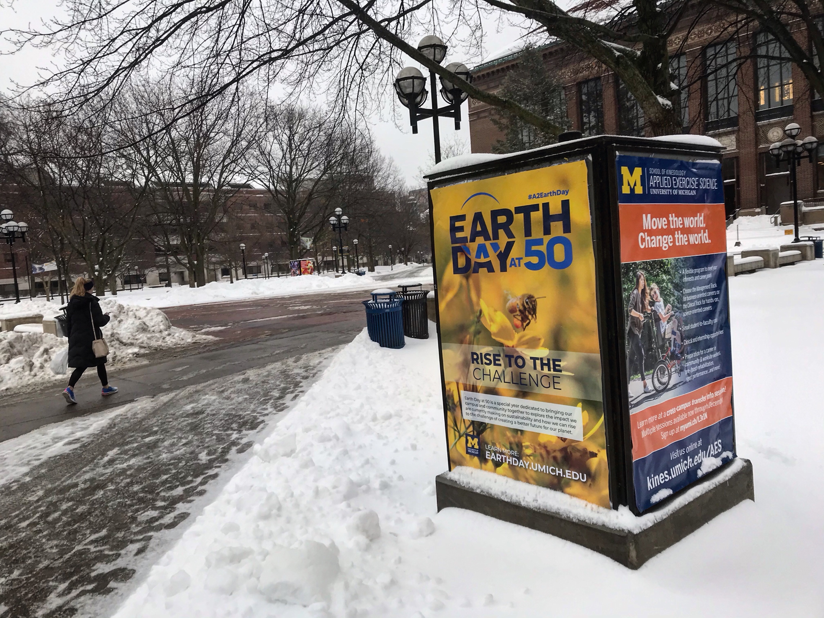 University of Michigan plans teach-in, climate summit ahead of 50th Earth Day anniversary