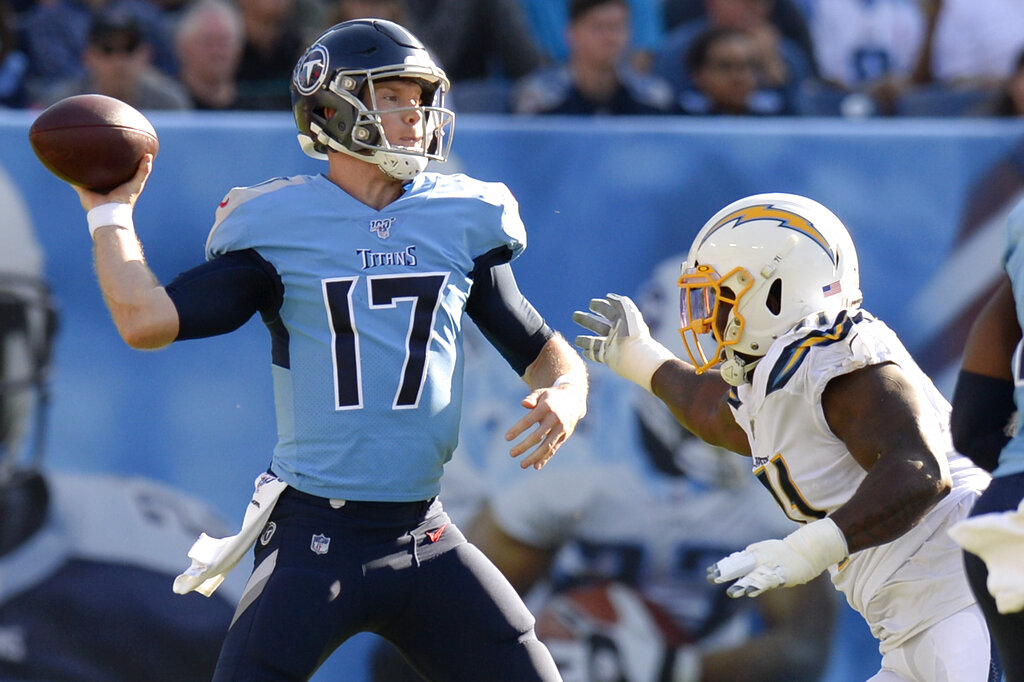 NFL quarterback review Week 7: Lamar Jackson's legs, Ryan Tannehill's statement and more